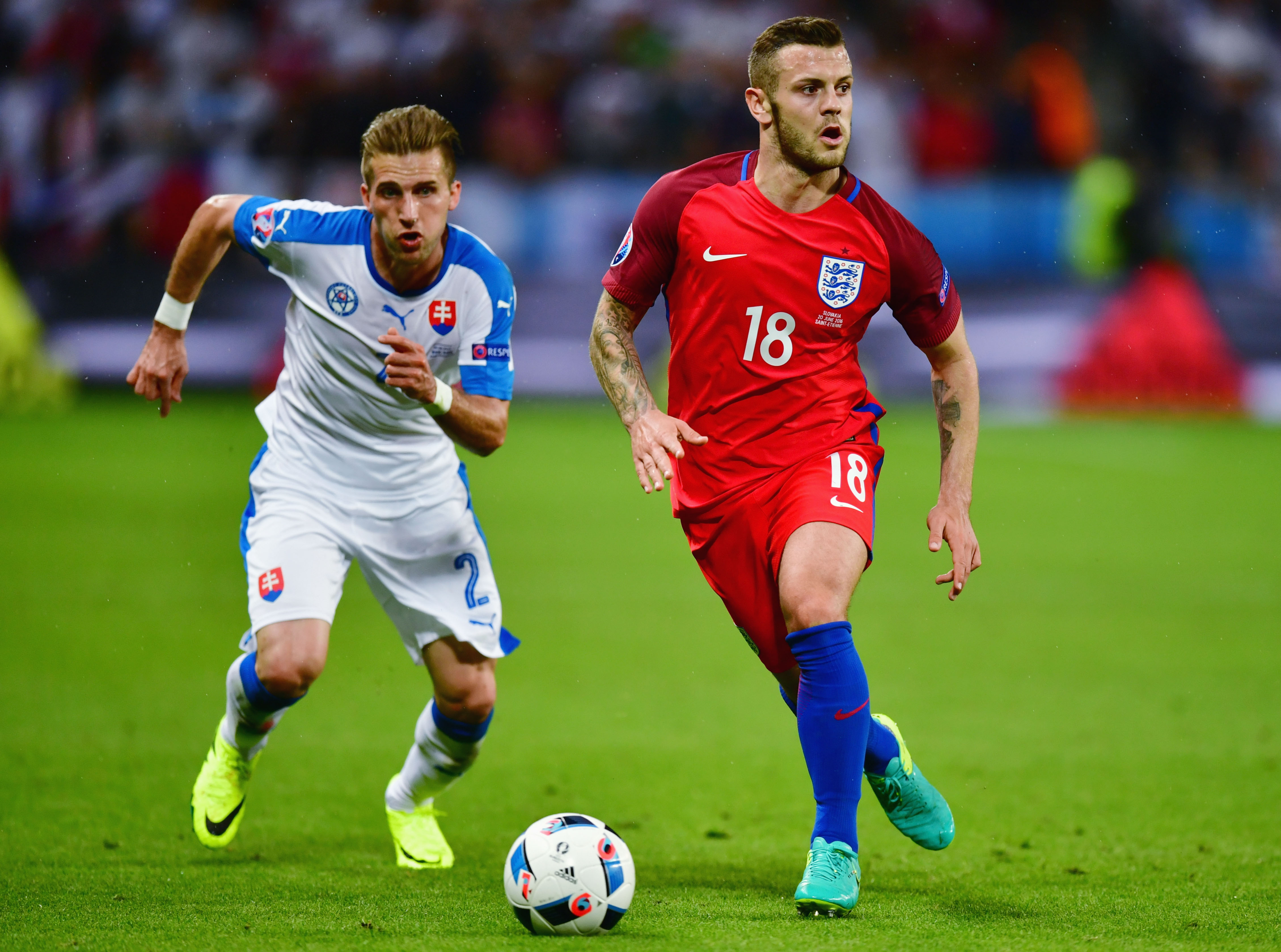 Jack Wilshire underperformed for England on Monday and should find it hard to get back into the squad against Iceland.