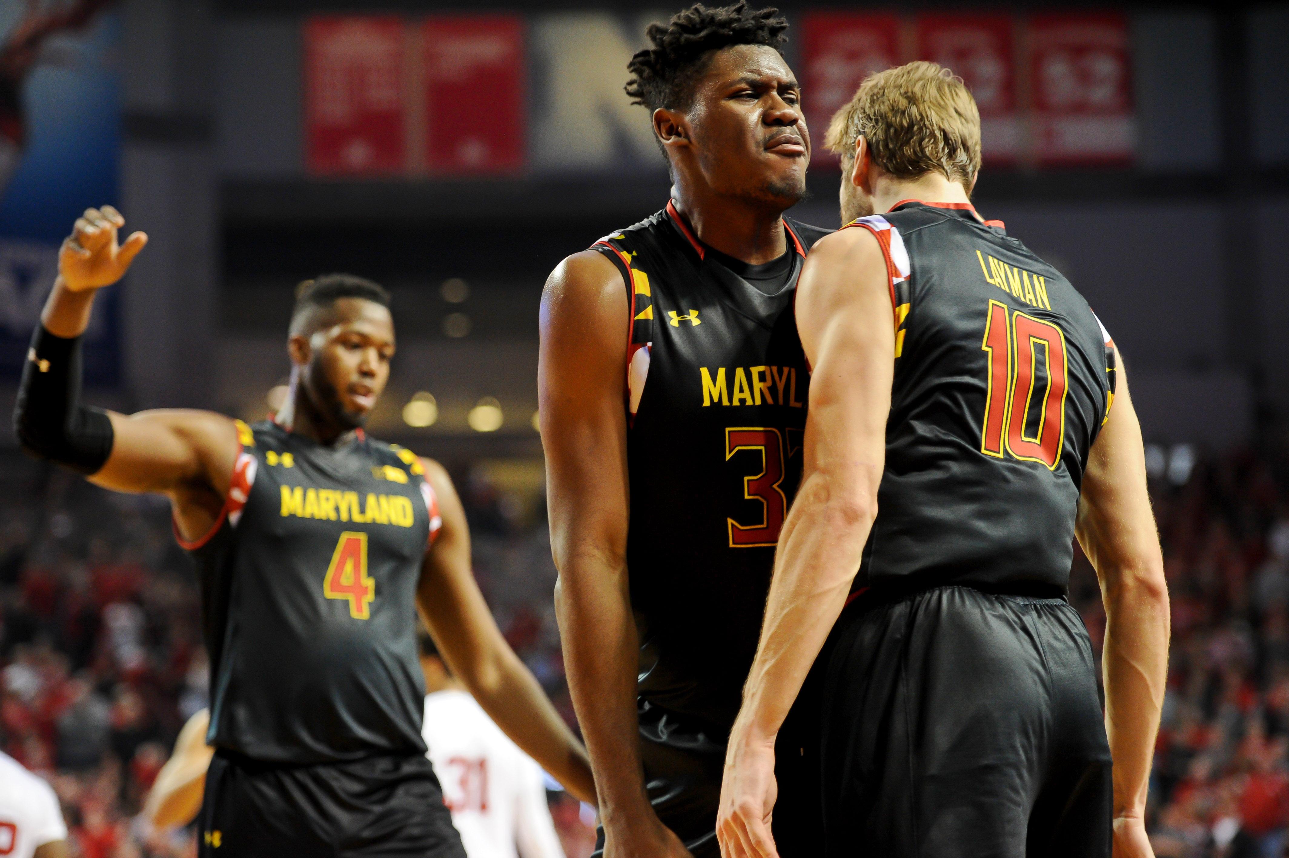 NCAA Basketball: Maryland at Nebraska