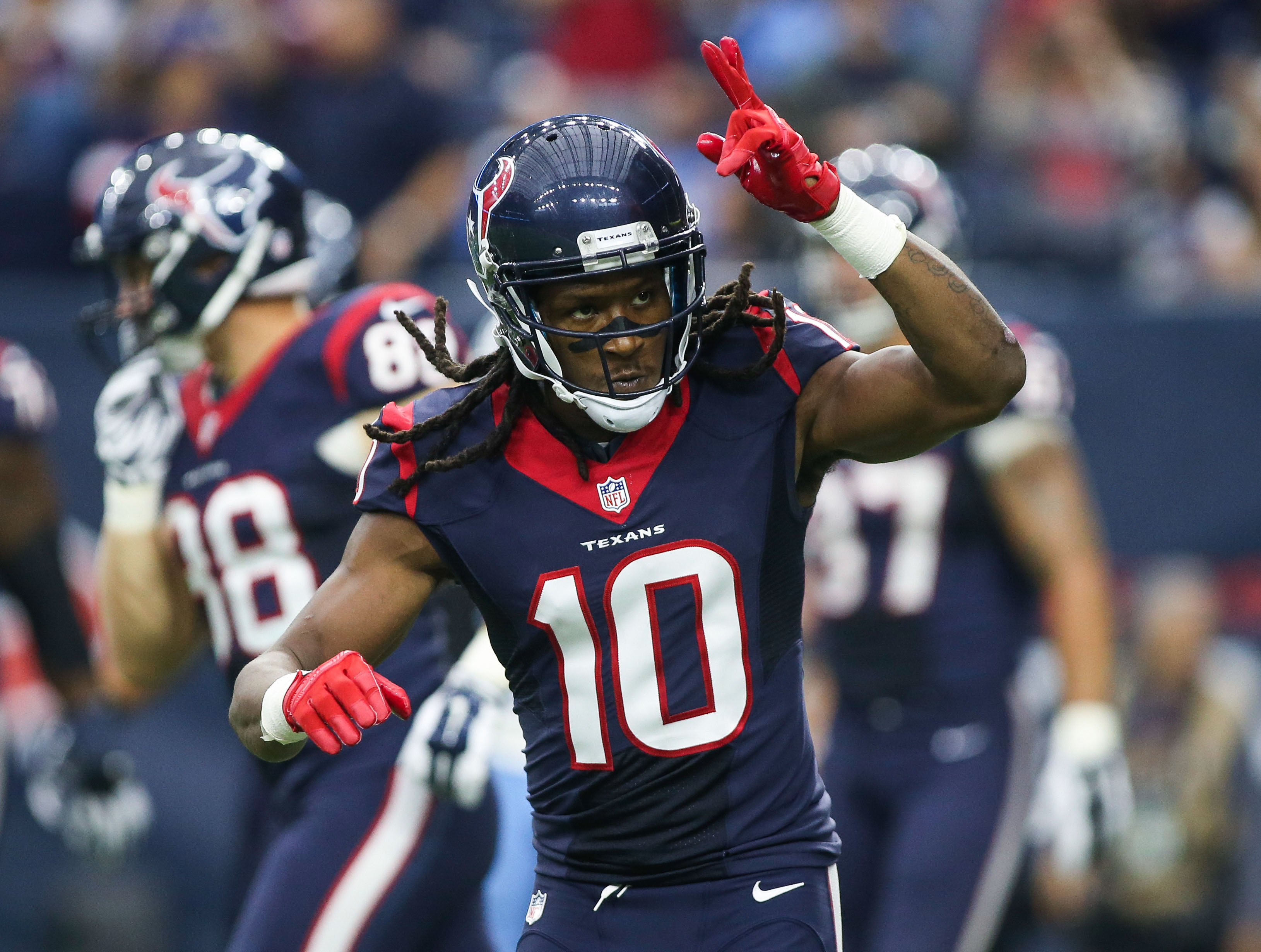 """DeAndre """"Nuk"""" Hopkins is a sure-fire WR1 in fantasy this season after breaking out in 2015."""