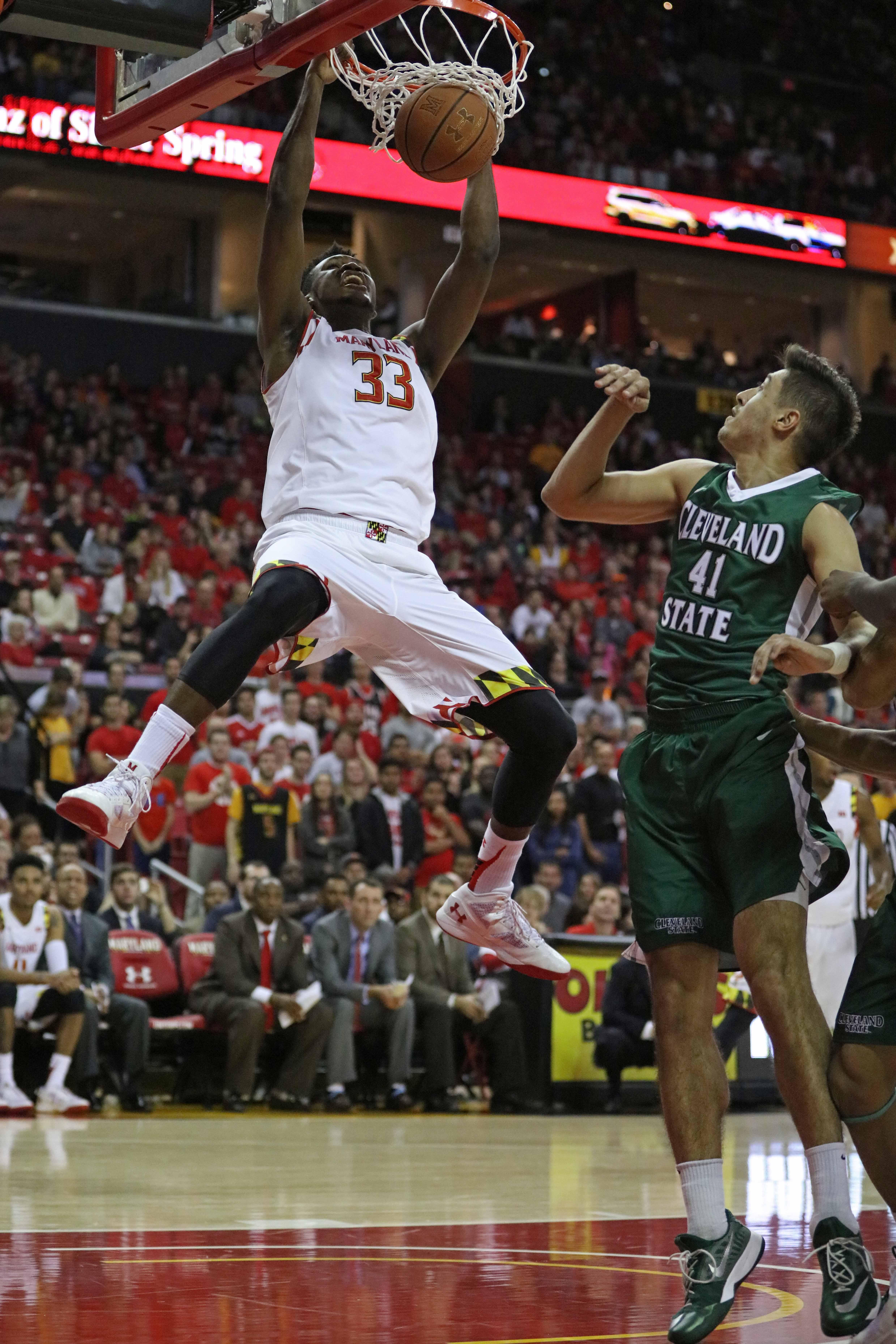 NCAA Basketball: Cleveland State at Maryland