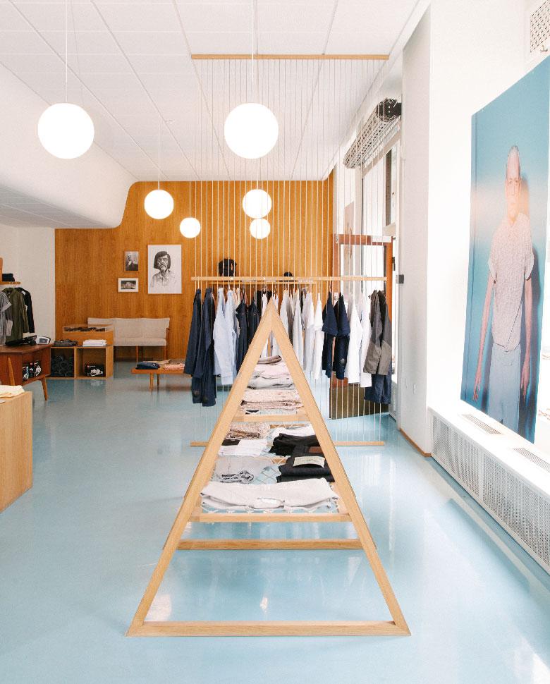 The Danish brand's Paris boutique.