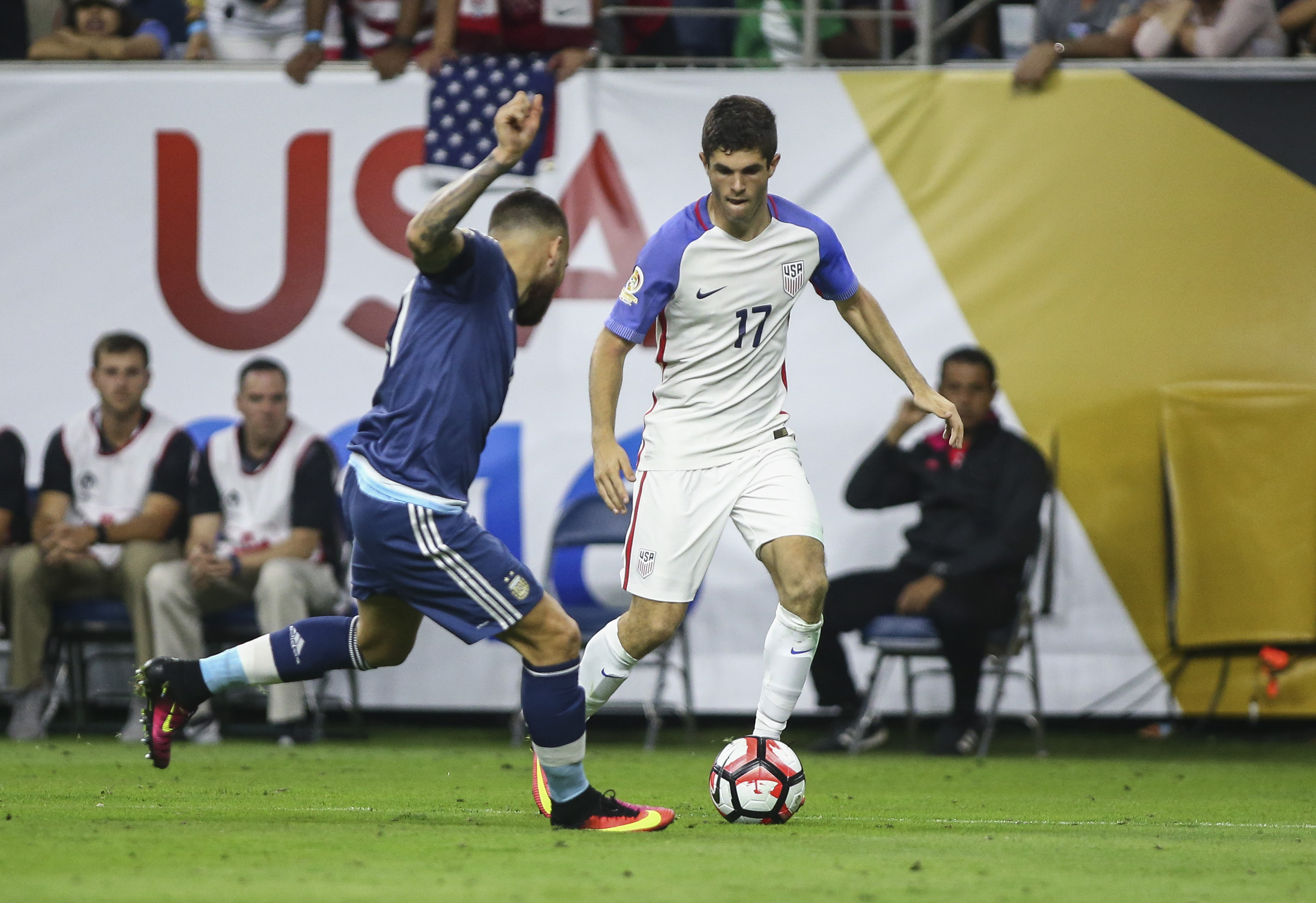Pulisic skipped prom for this, he's hoping to start against Colombia.