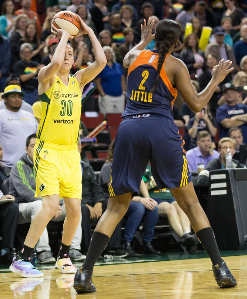 Breanna Stewart dominated at all facets of the game in the Storm victory.