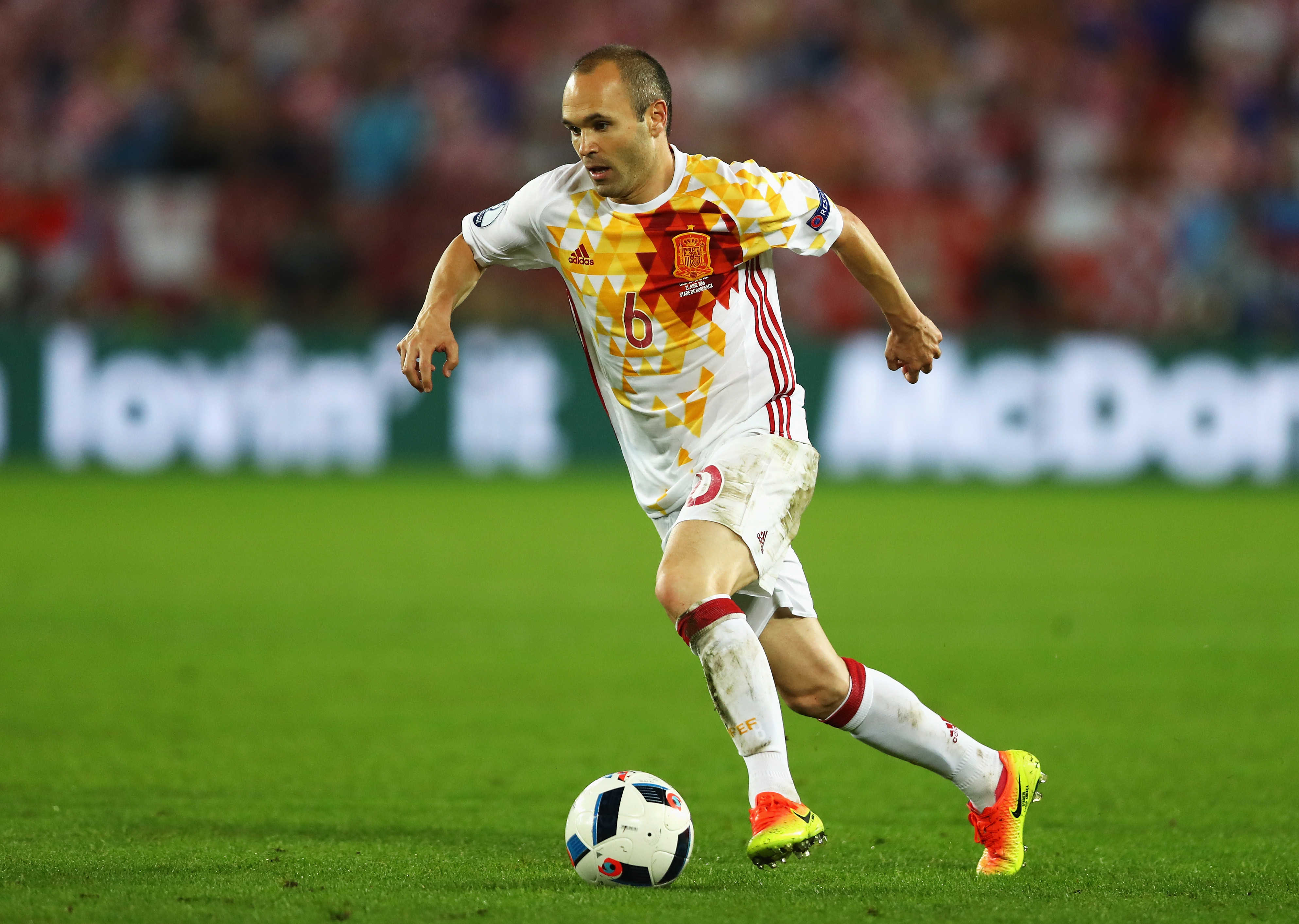 Croatia v Spain - Group D: UEFA Euro 2016