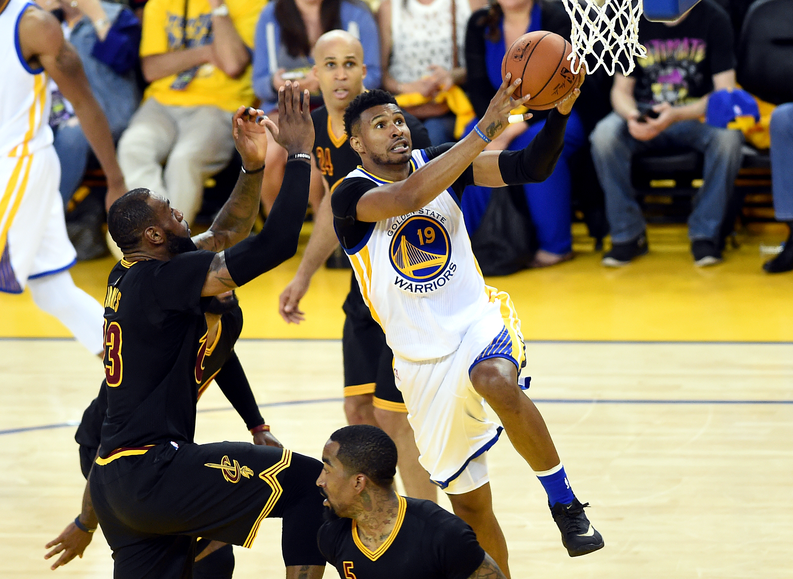 Soon-to-be free agent Leandro Barbosa was a sparkplug off the bench for the Warriors.