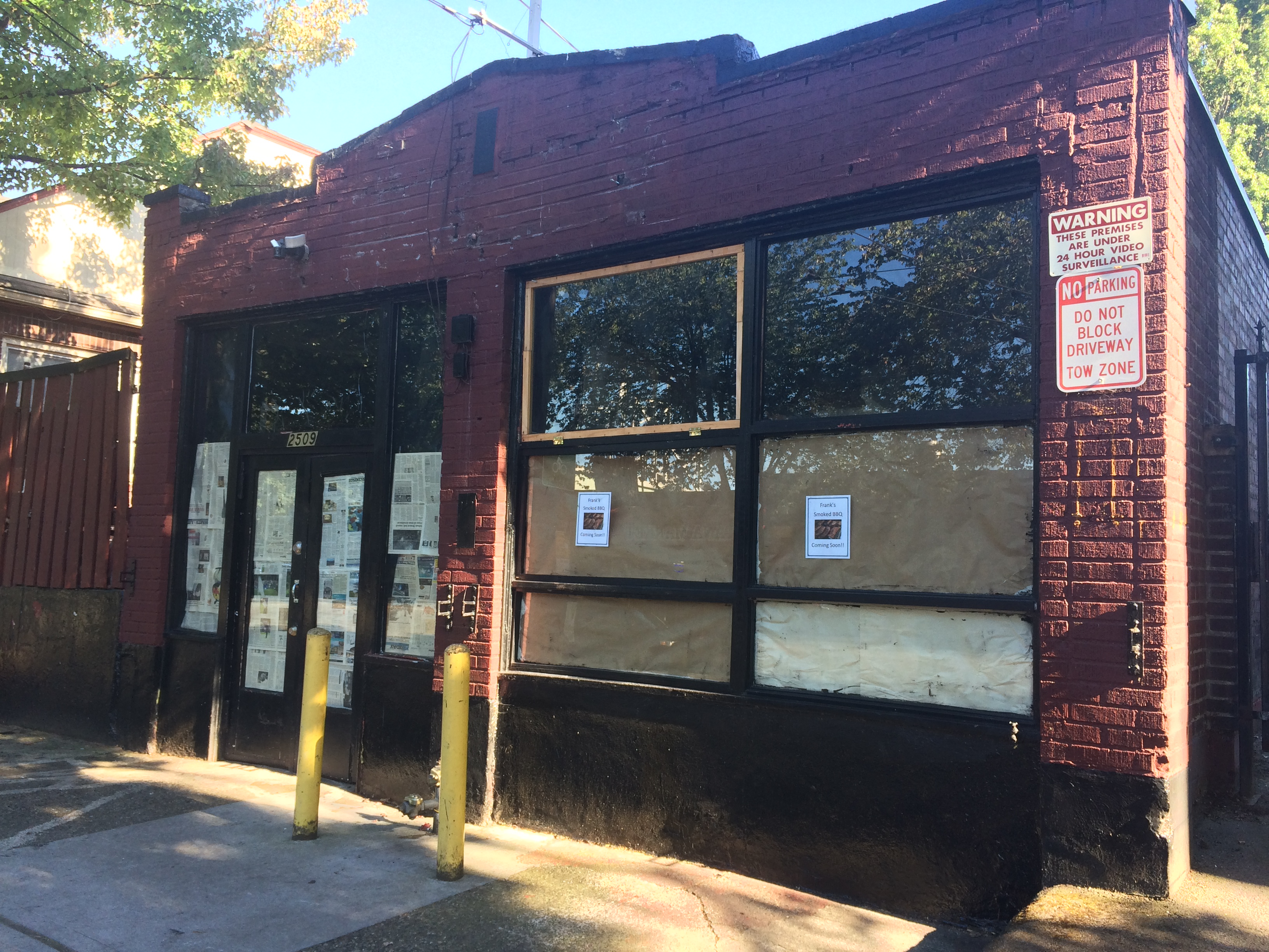 The former Barbeque Pit will become Frank's Smoked BBQ