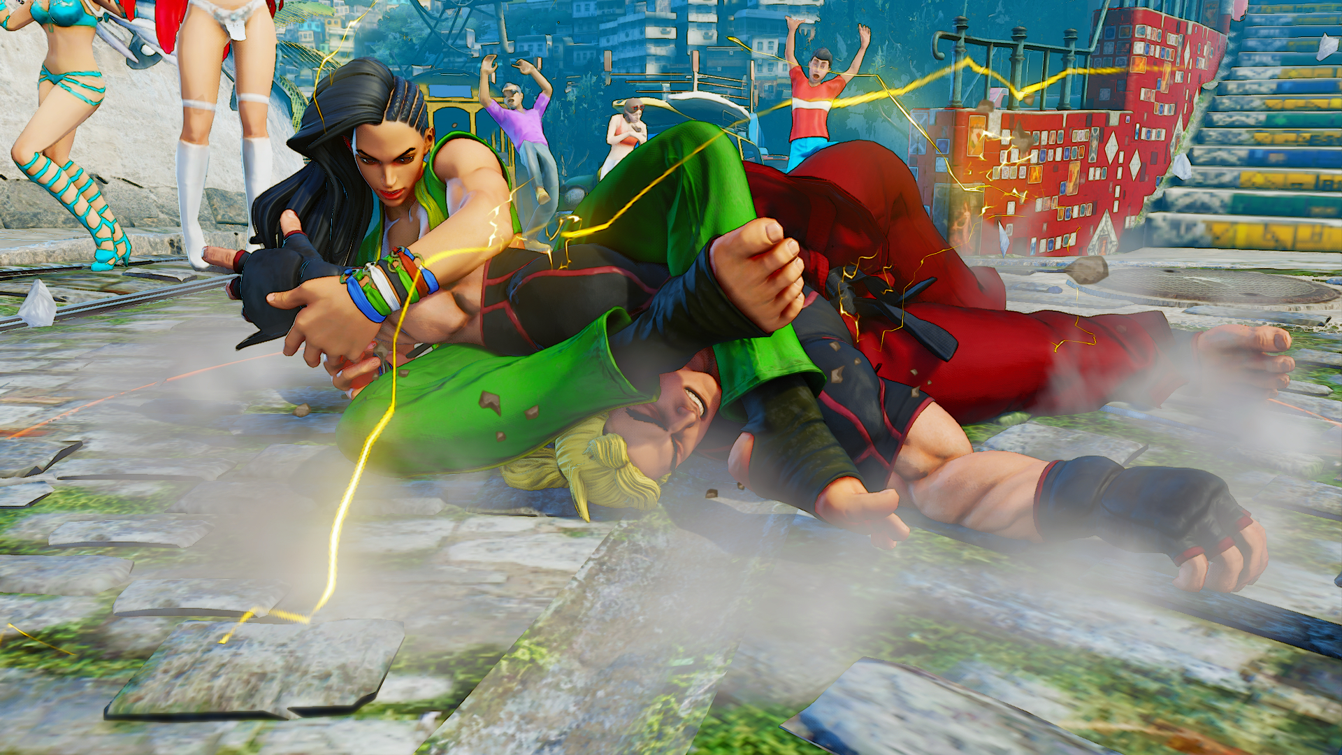 Street Fighter 5's rejected characters include a fighting president, 'literary master' and more