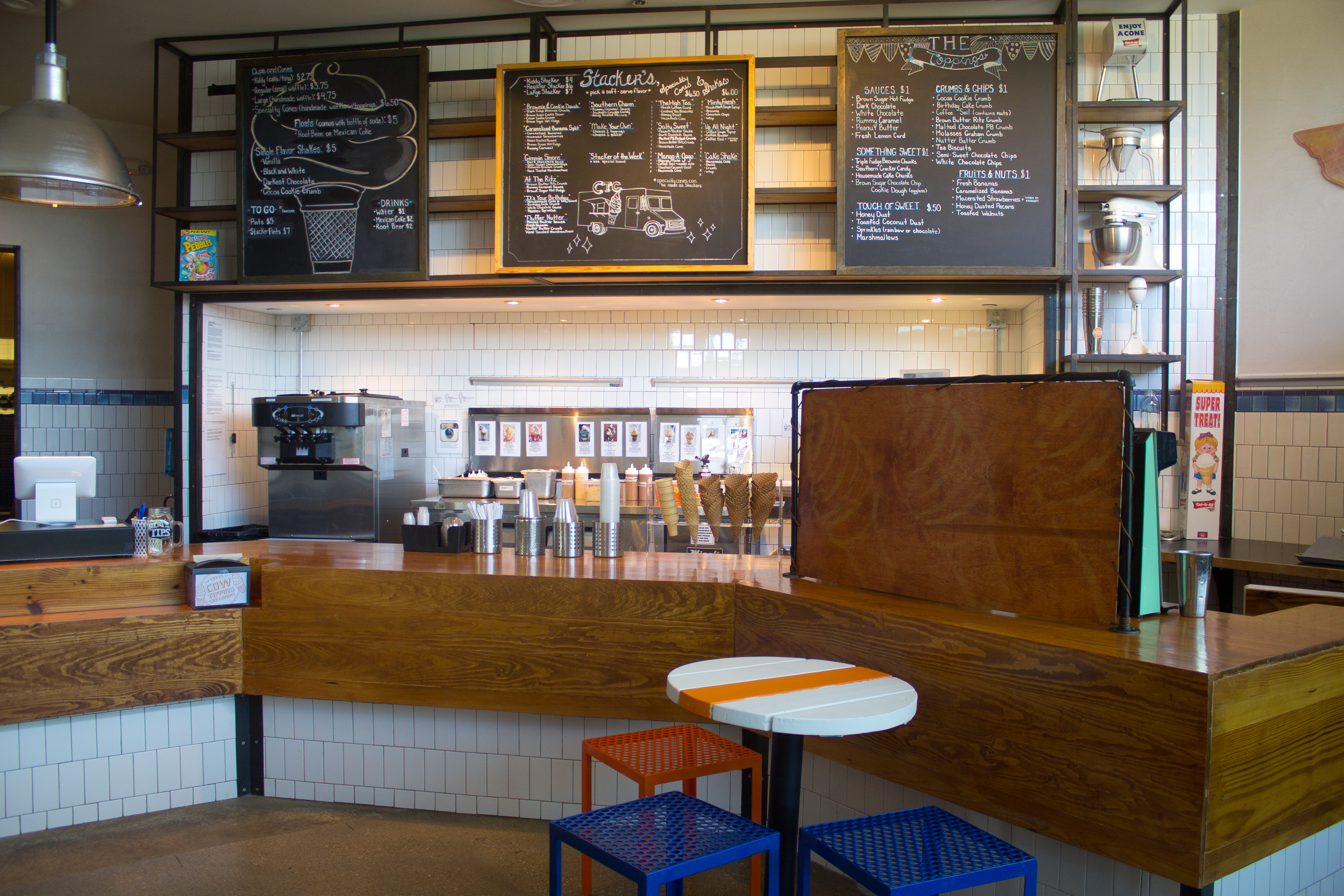 Cow Tipping Creamery's new home