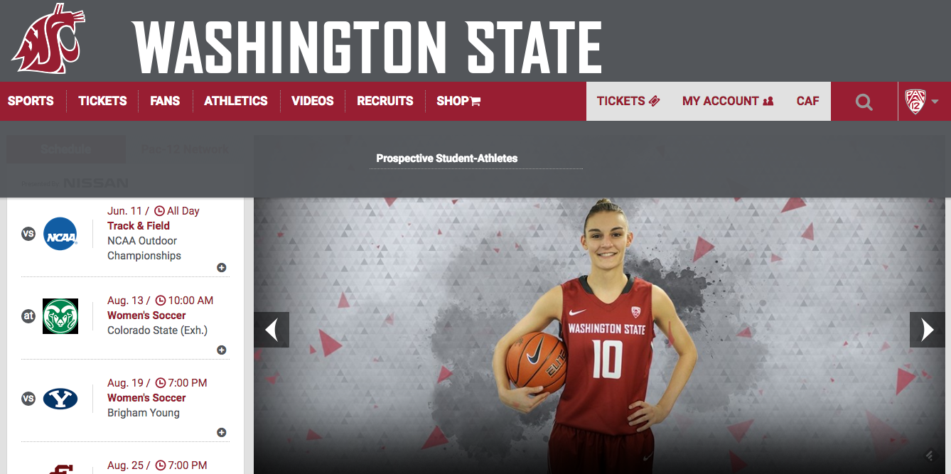 e3eb41849cb WSUCougars.com gets a much-needed facelift. Mobile users in particular will  ...