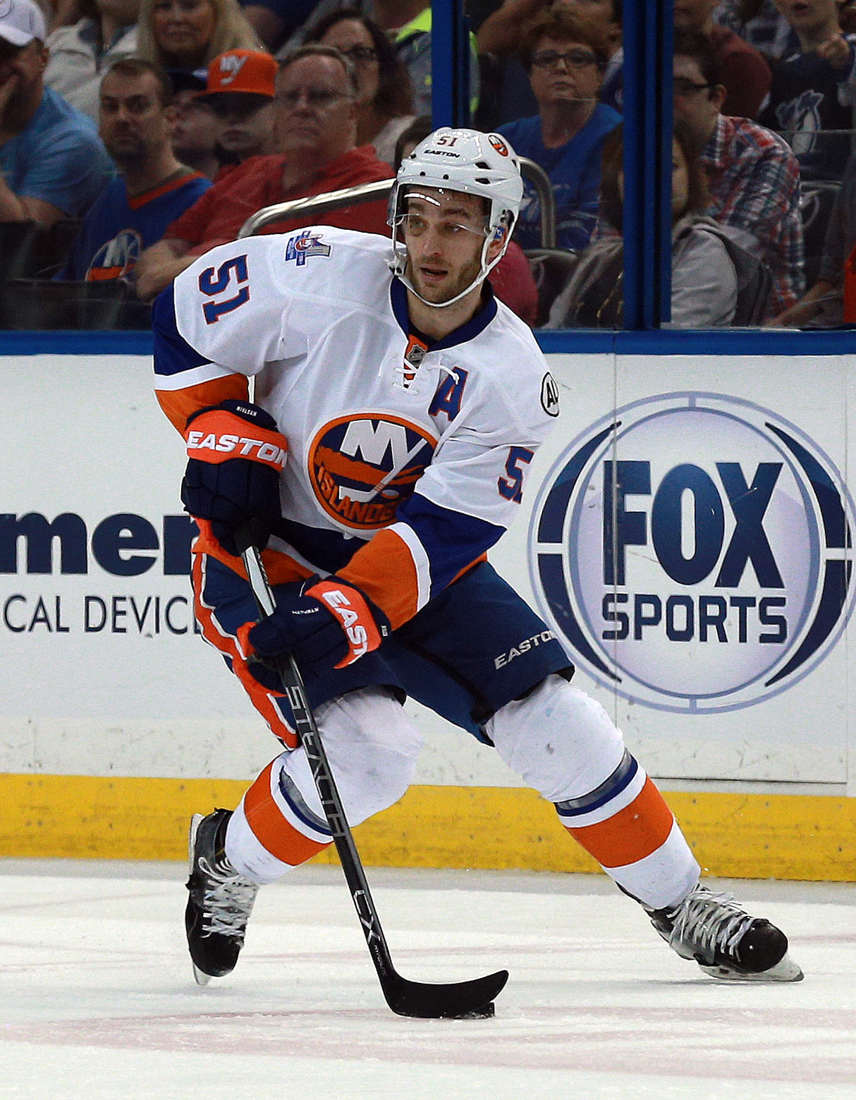 Frans Nielsen is the newest member of the Detroit Red Wings