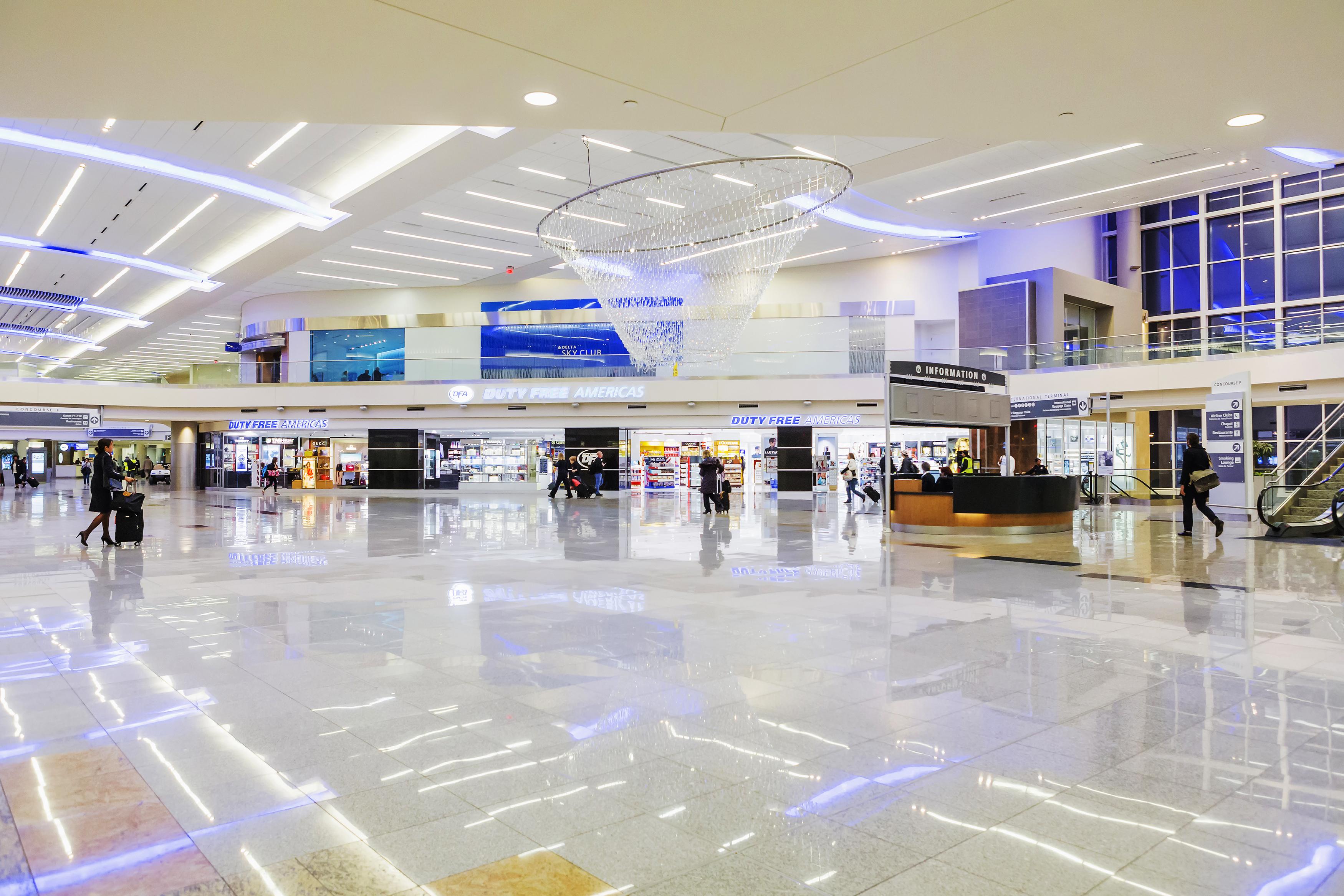 The Atlanta Airport