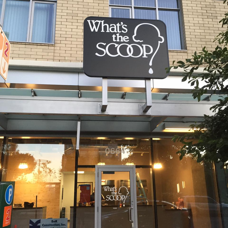 What's the Scoop's forthcoming South Waterfront location