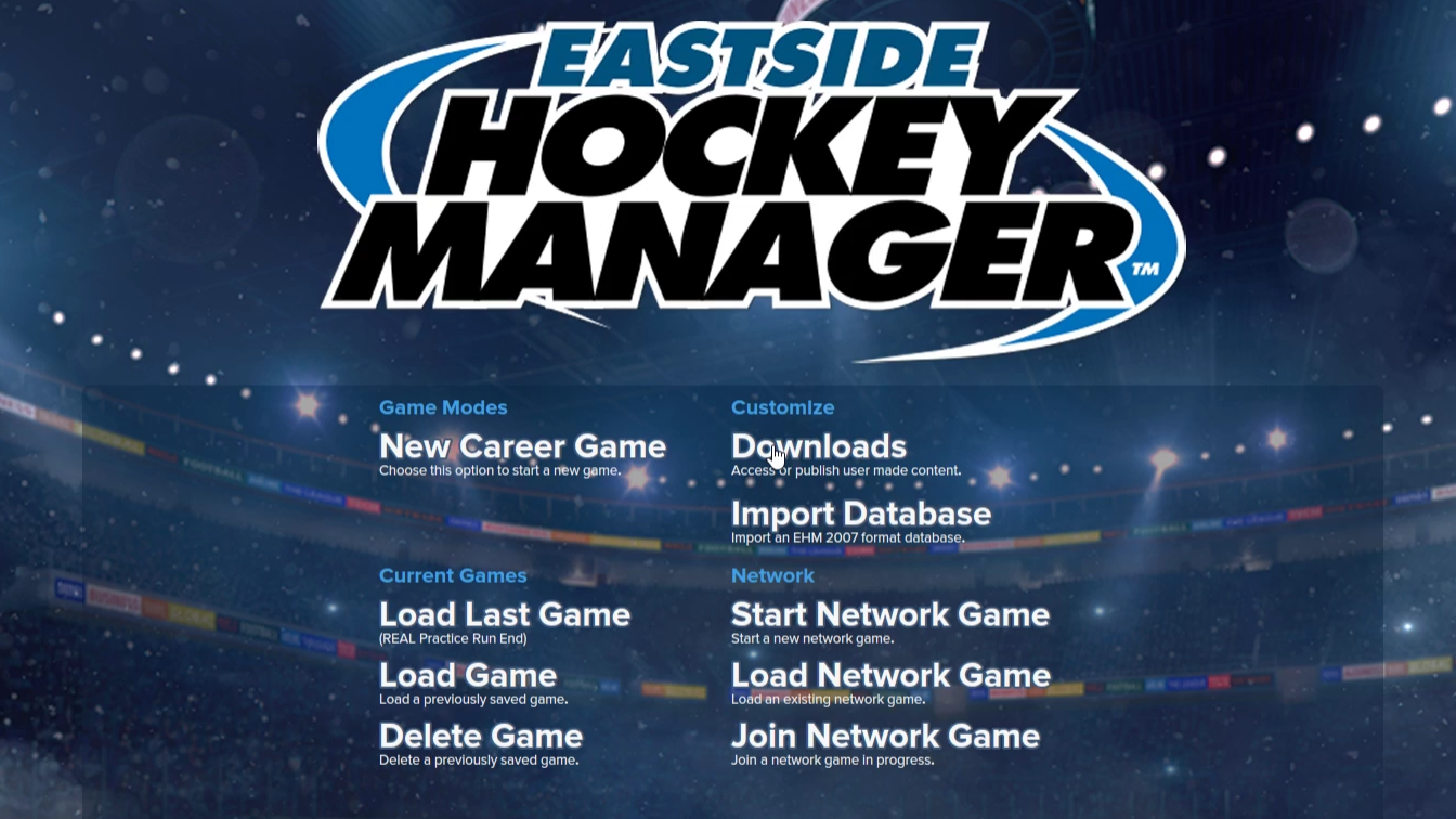 Eastside Hockey Manager is a hockey simulation game. Let's simulate last season, pretend to be Ray Shero, and re-do 2015-16 for the Devils.