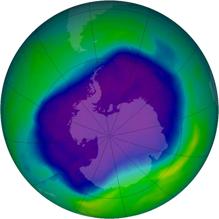 Good news: the hole in the ozone layer is finally starting to heal