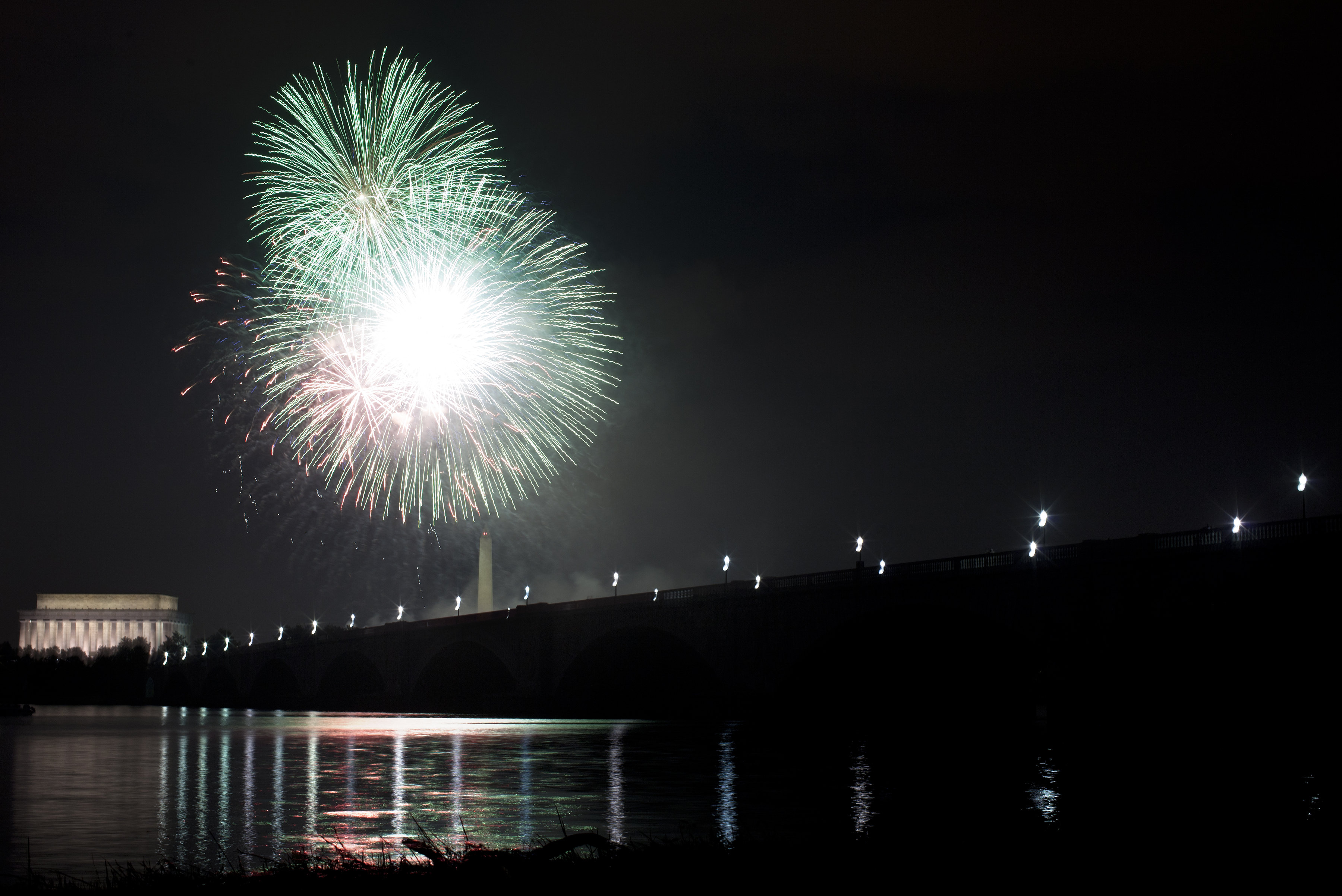 Nation's Capitol Celebrates Independence Day With Fireworks