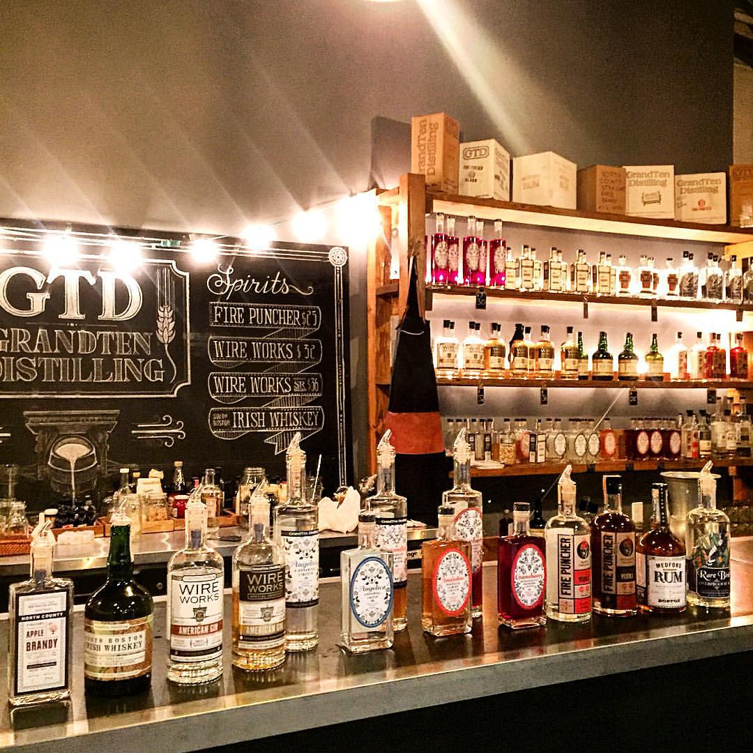 GrandTen Distilling Opens Its Cocktail Bar This Weekend