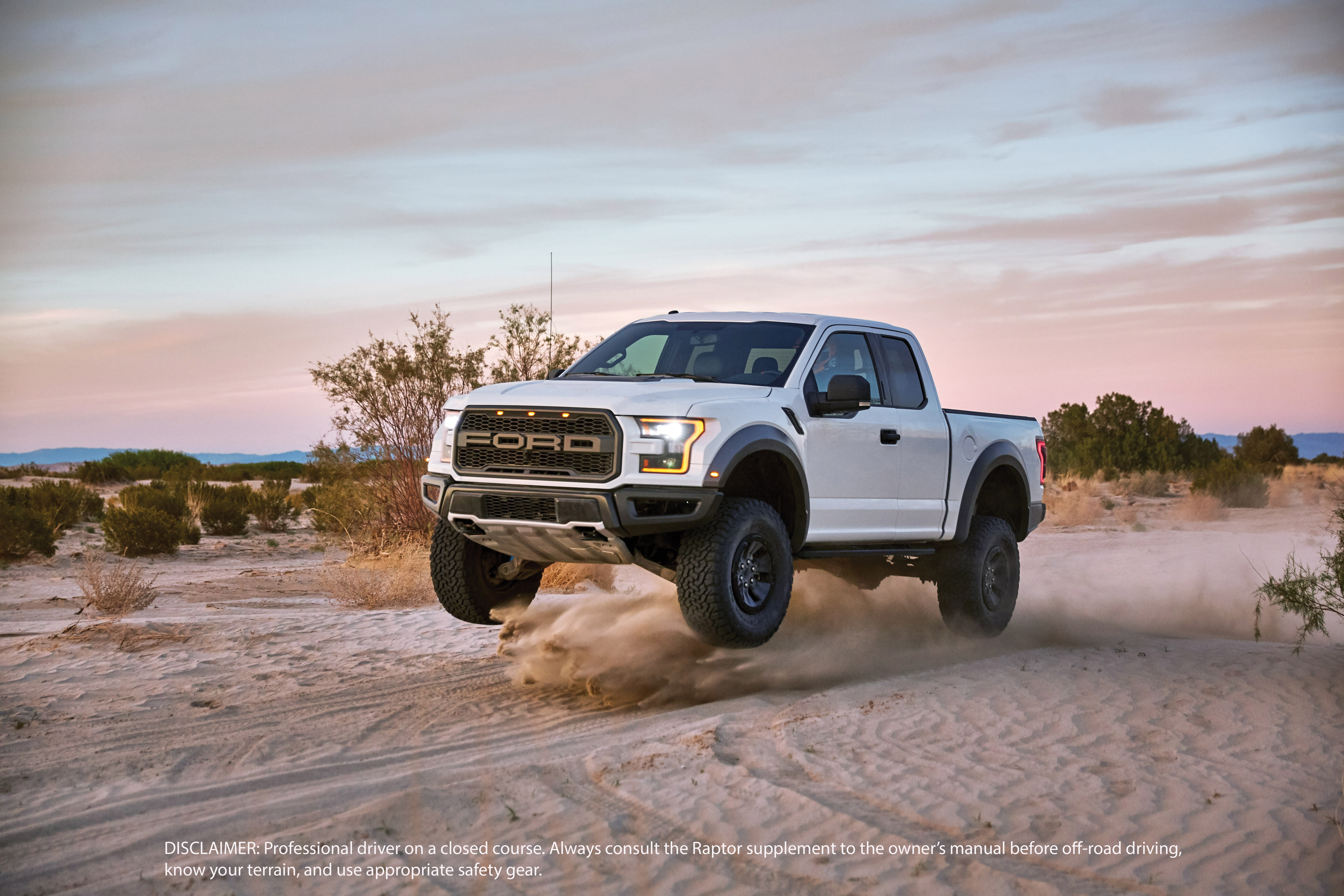 You Can Press The Baja On In 2017 Ford Raptor To Make It Eat Sand Verge