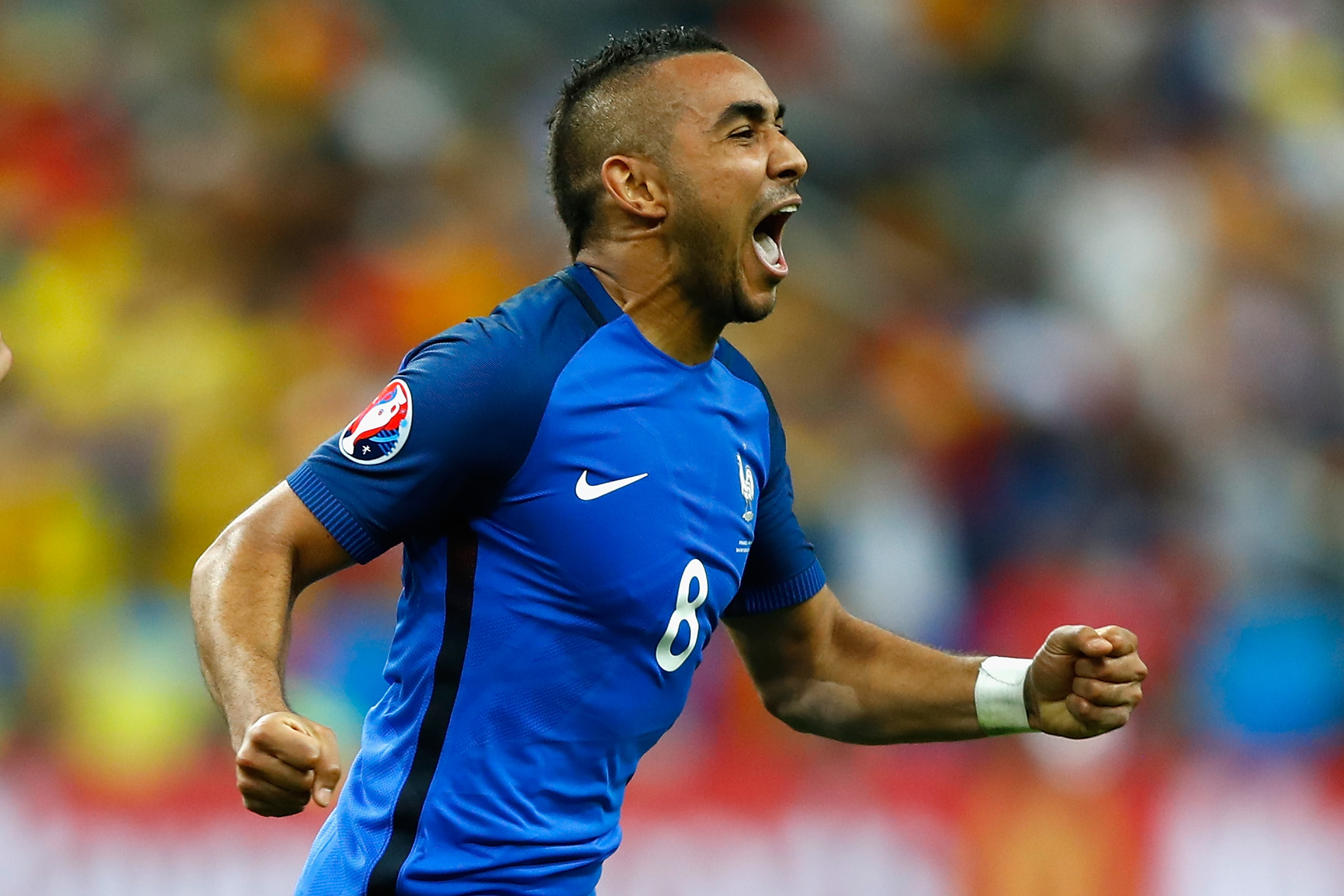 West Ham's Dimitri Payet was not in Seattle Tuesday, he was busy with France.