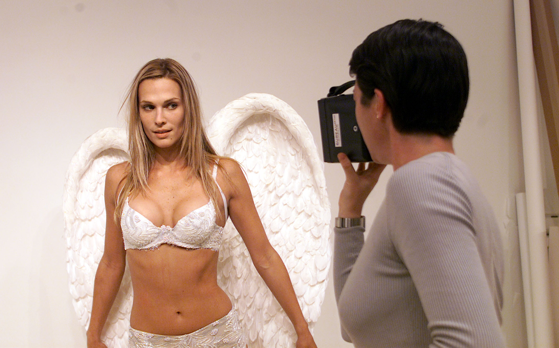 Angel Molly Sims in 2001.