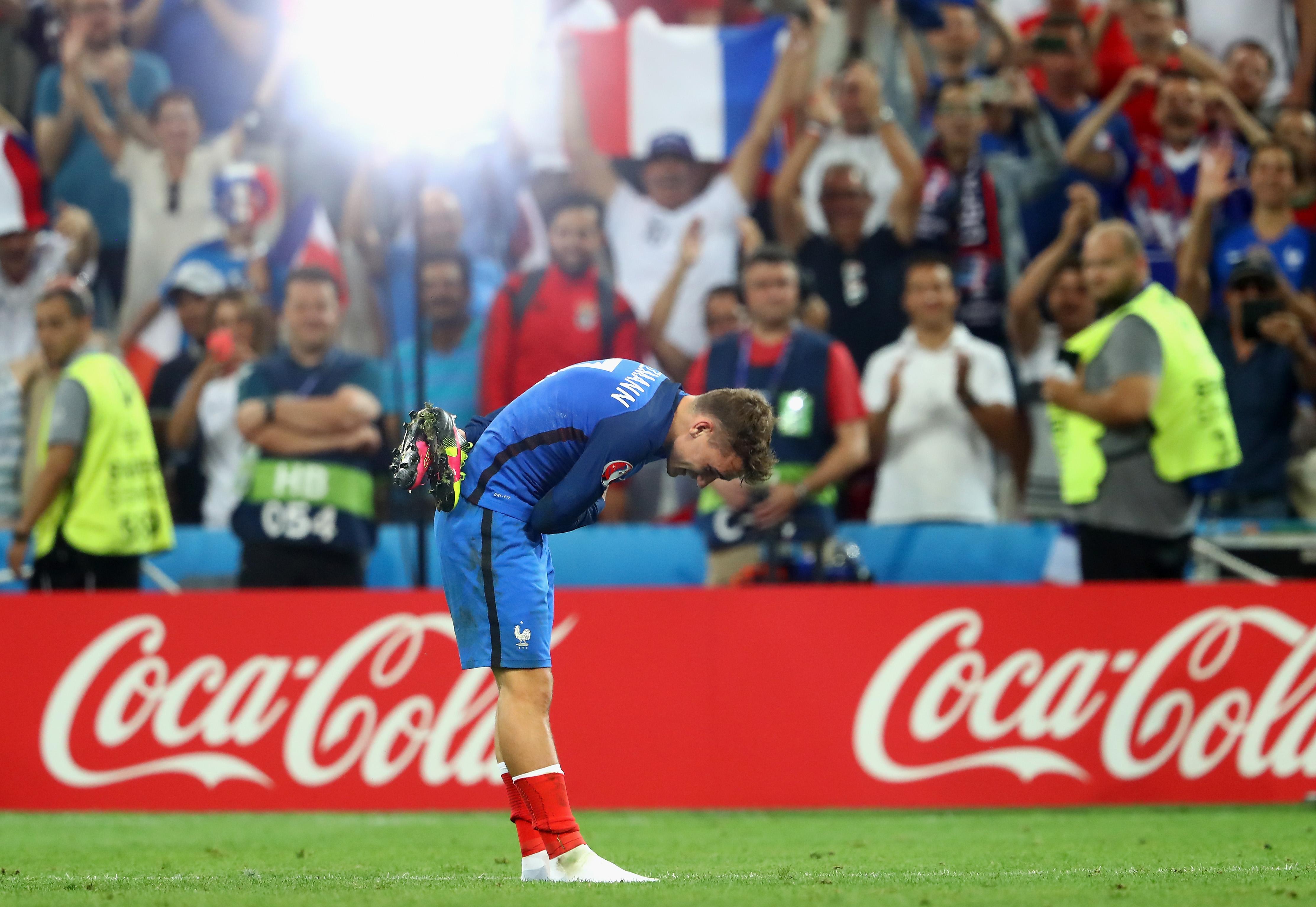 Take a bow Antoine Griezmann, it's your tournament.
