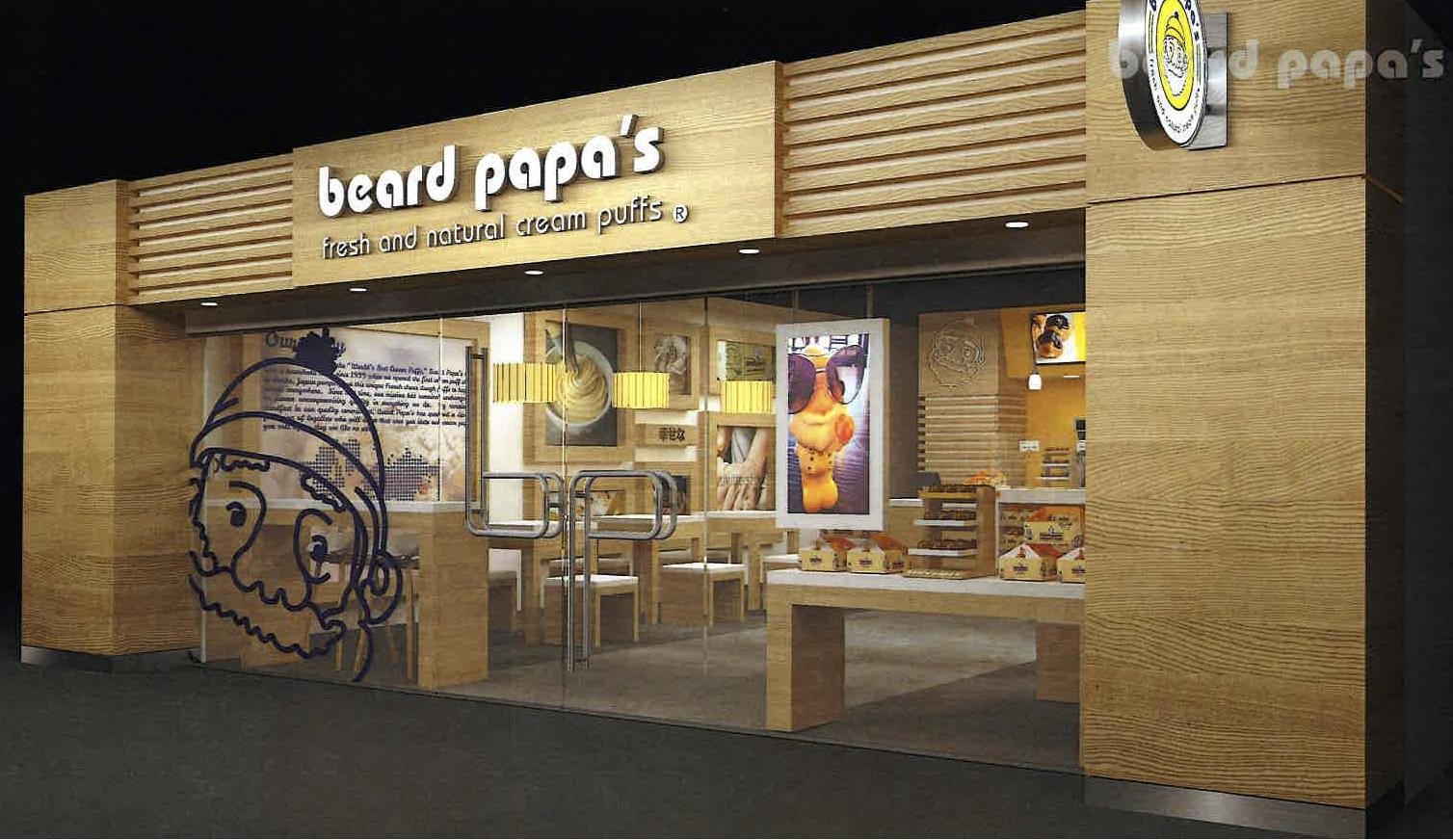 Beard Papa's rendering