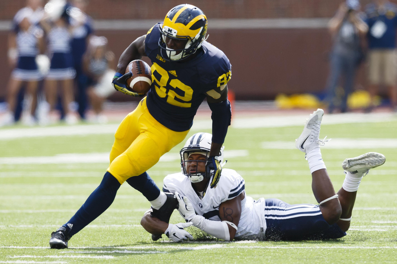 NCAA Football: Brigham Young at Michigan