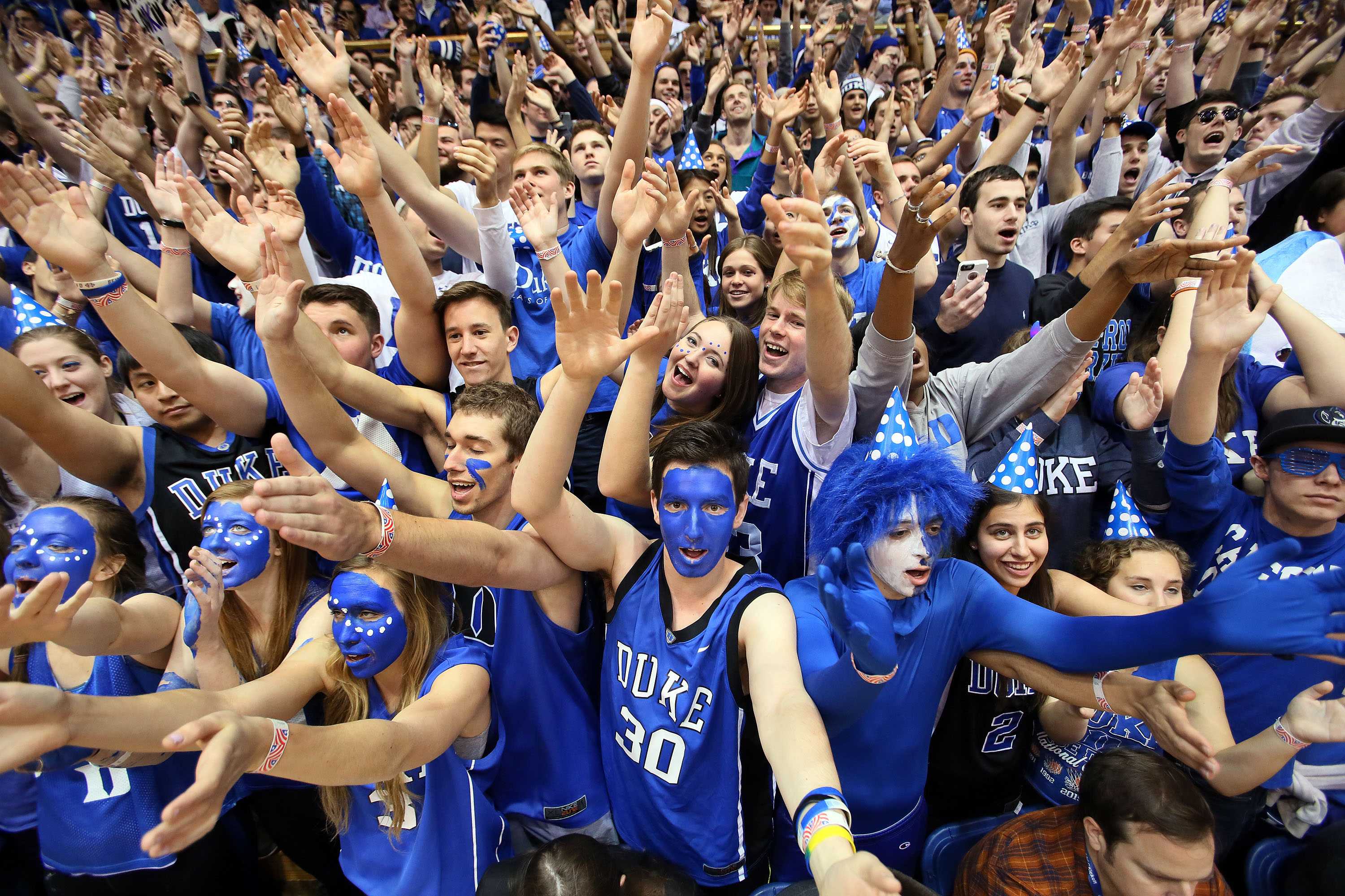 The Cameron Crazies would love to see Wendell Carter in a Duke uniform