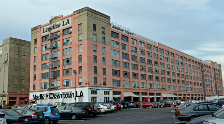 9a317152 American Apparel. 747 Warehouse St, Los Angeles ...