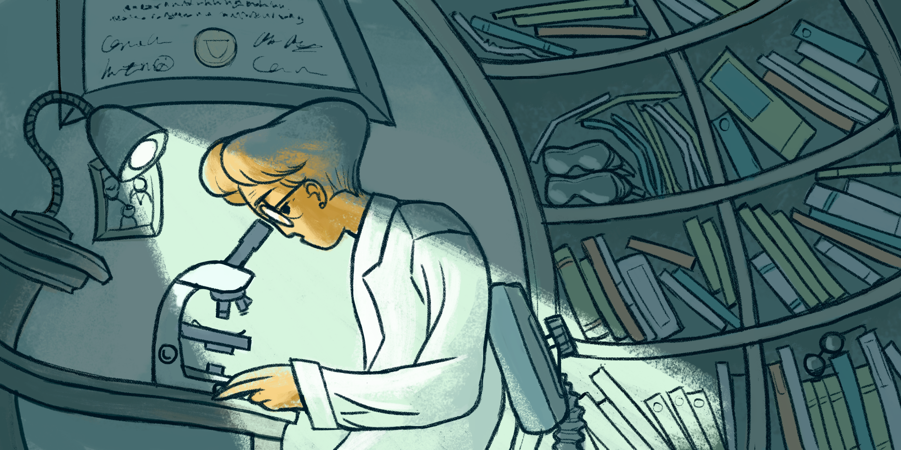 what does scientist look like