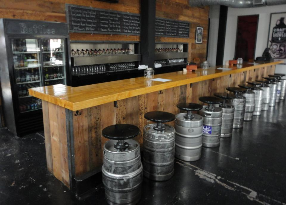Craft & Growler provides a world-class bevy of beer options.