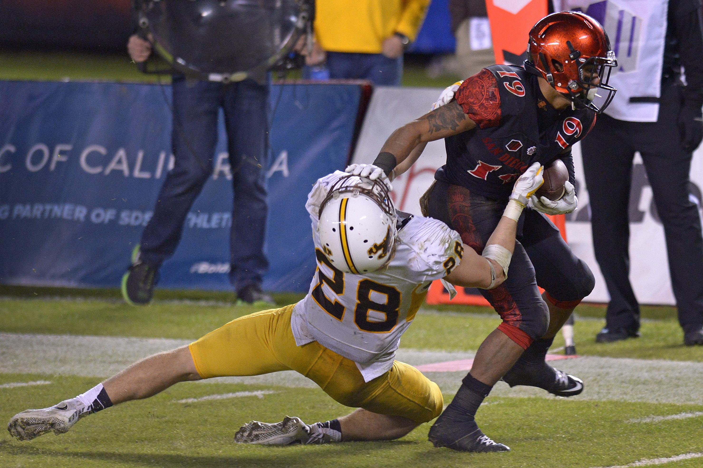 NCAA Football: Wyoming at San Diego State