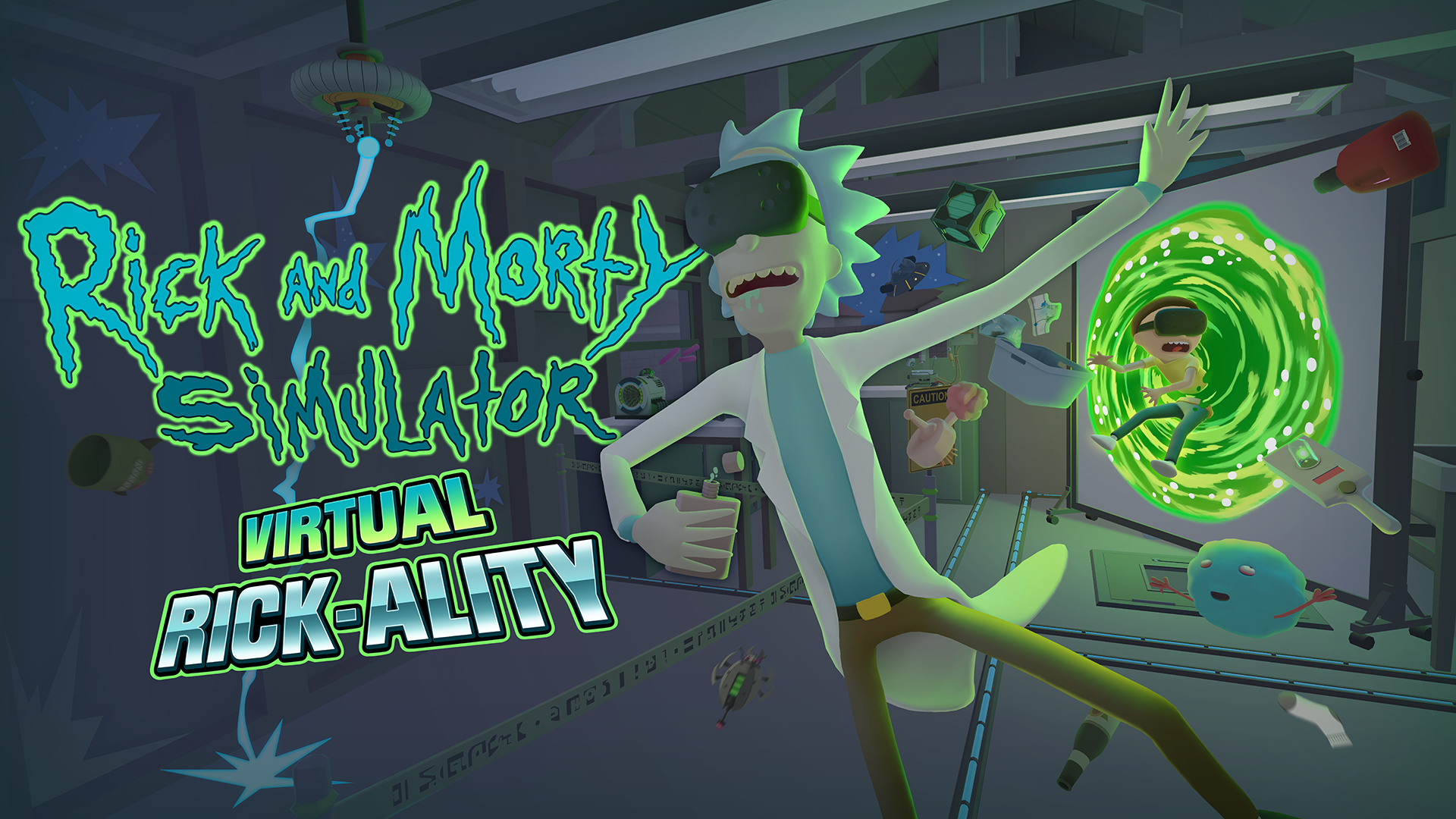 Watch the stunning first trailer for the Rick and Morty VR game