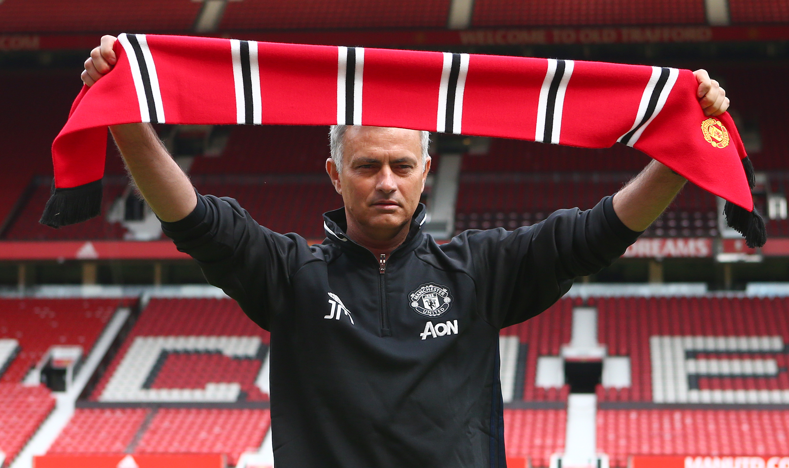 Manchester United Officially Introduce Jose Mourinho as Their New Manager
