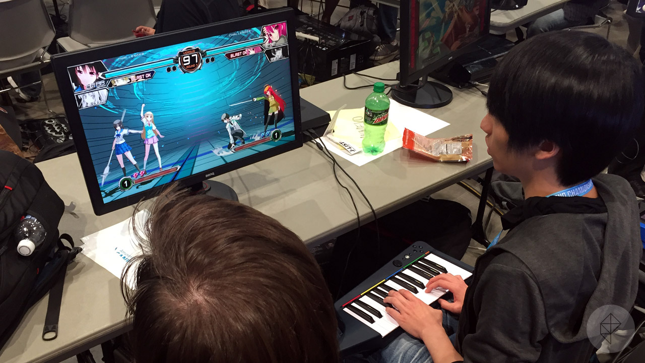 Gono piano controller at Evo 2016