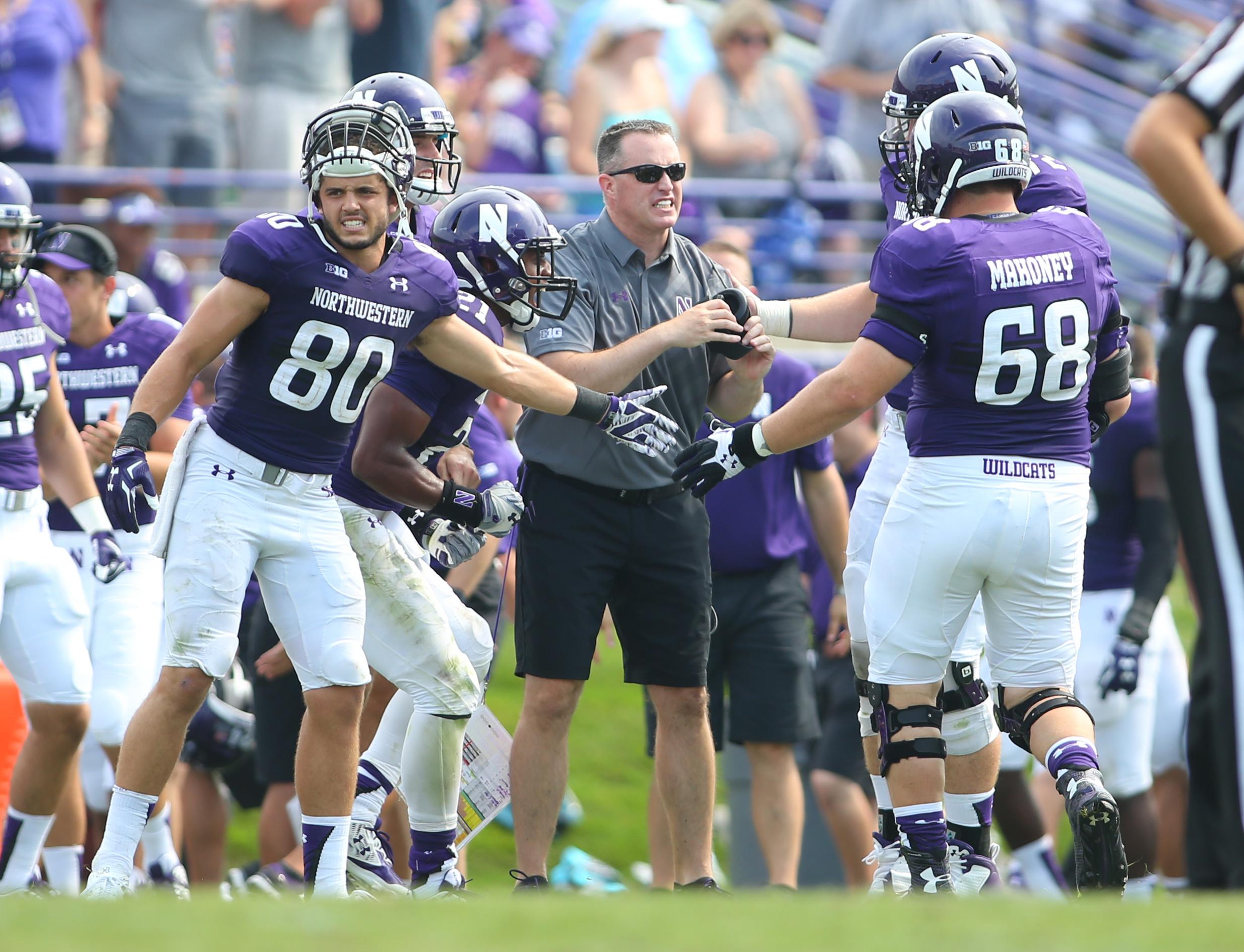 NCAA Football: Stanford at Northwestern