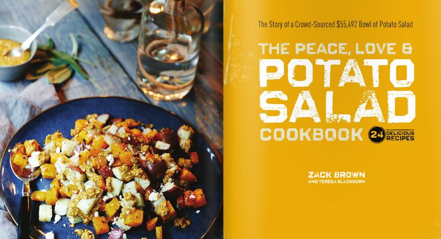The infamous Potato Salad Kickstarter fulfills its final goal with this cookbook