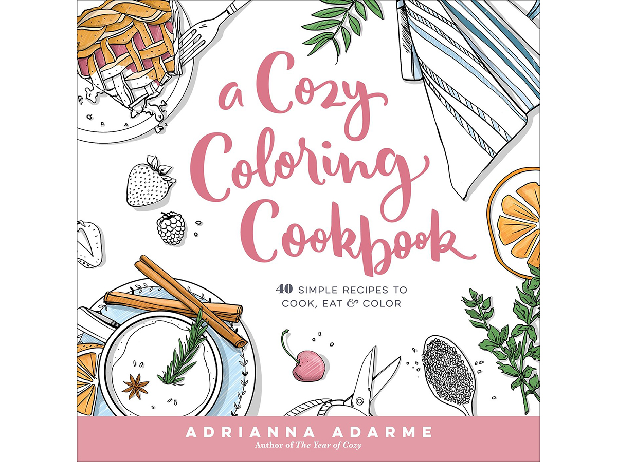 Book Deals: A Coloring Cookbook, Traveling with Rene Redzepi, and More