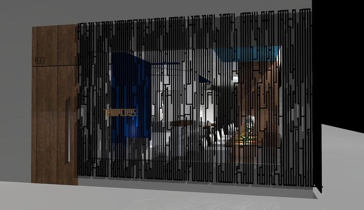 A rendering of Temporis Restaurant
