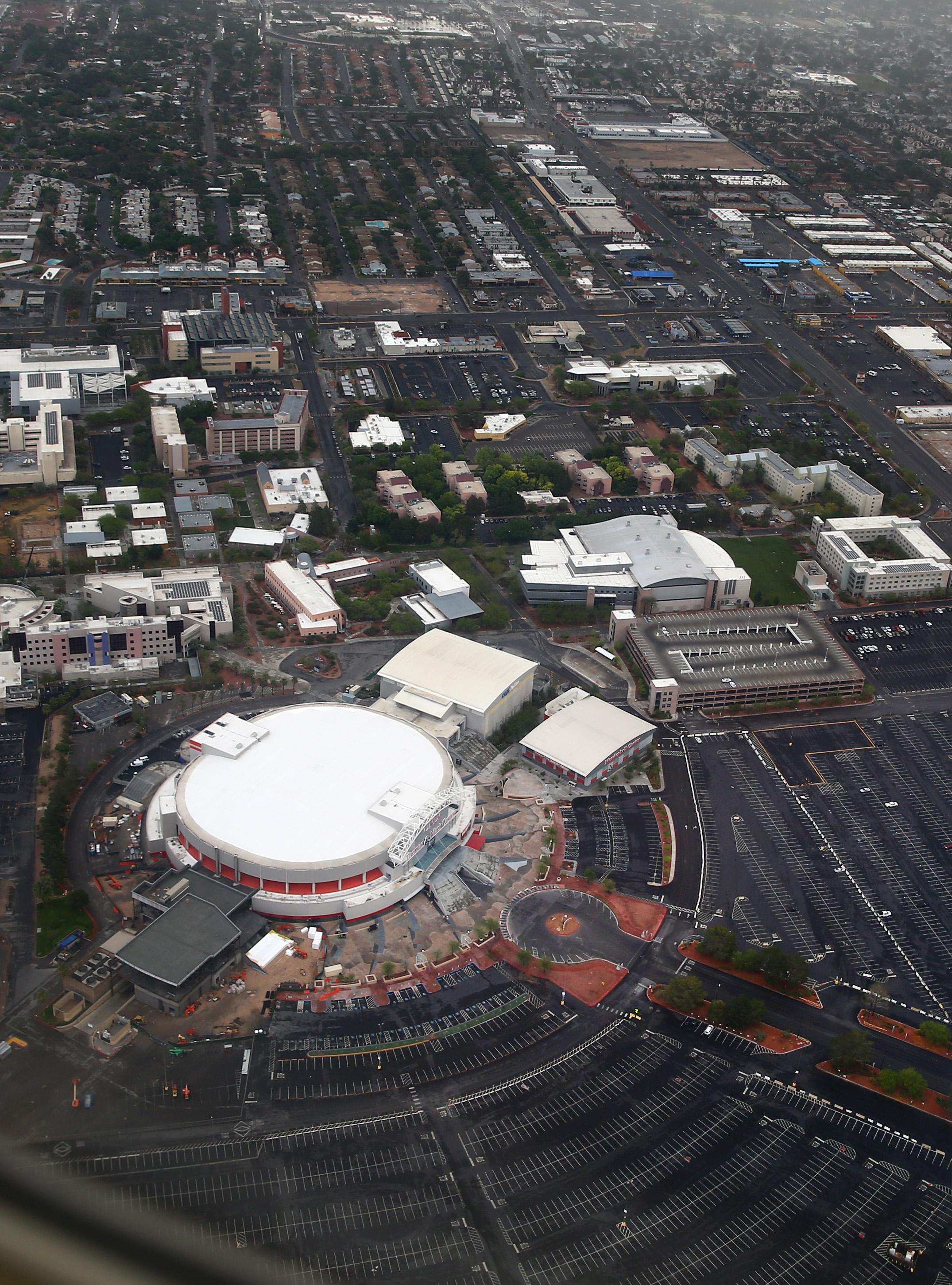 NFL: Thomas & Mack Center Aerials