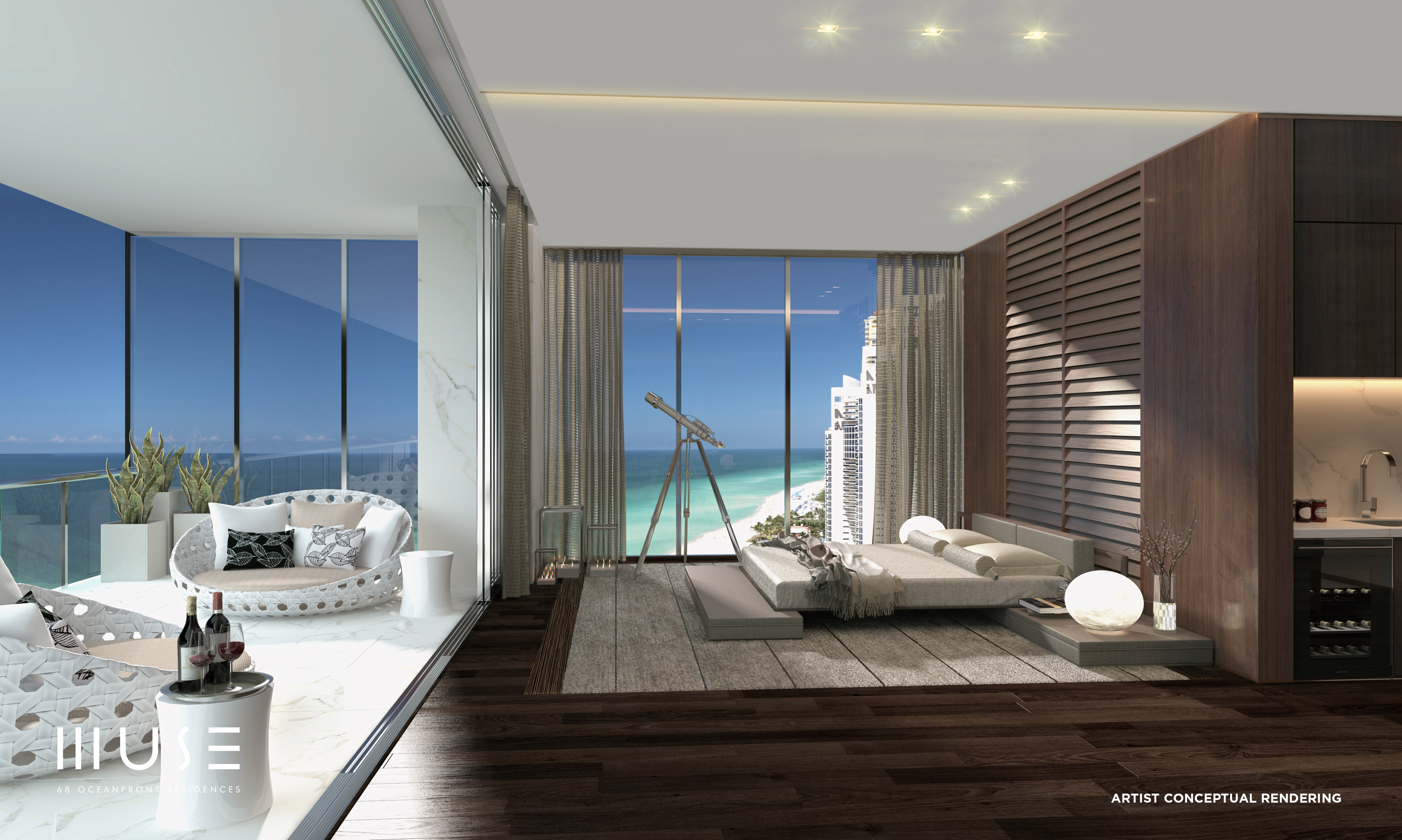 20 bedroom house.  Sunny Isles Beach Miami Curbed