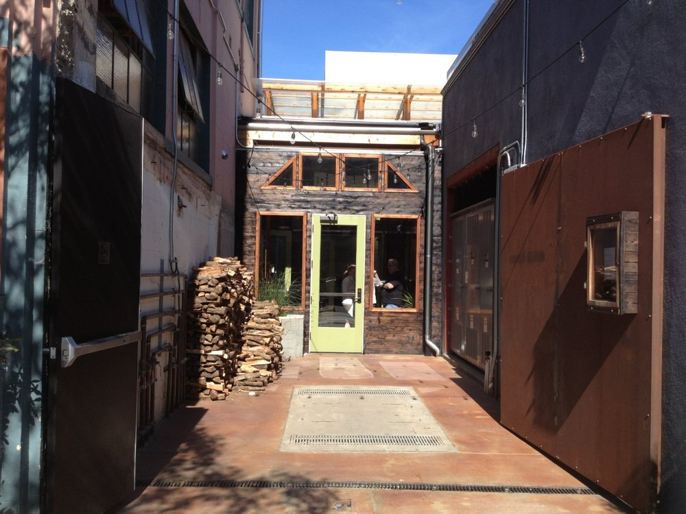 The entryway to Central Kitchen.
