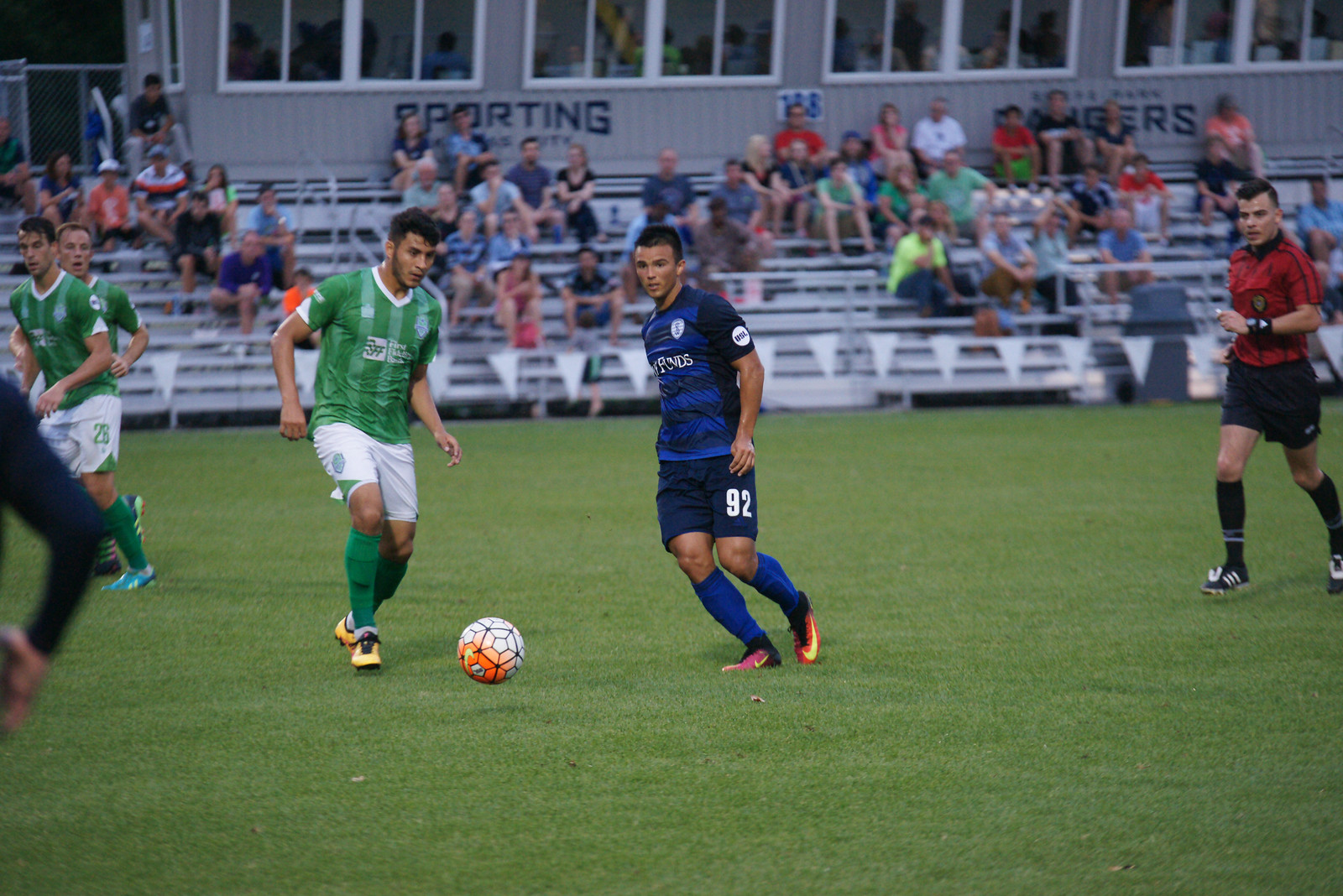Alex Molano scored in the 95th minute to earn a draw