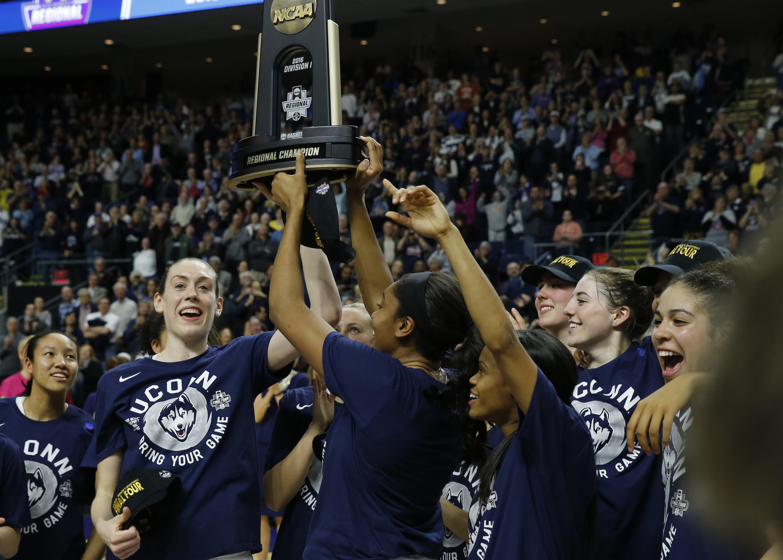 NCAA Womens Basketball: NCAA Tournament-Bridgeport Regional-Connecticut vs Texas