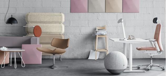 Kinnarps is a partner company to Scandinavian Spaces