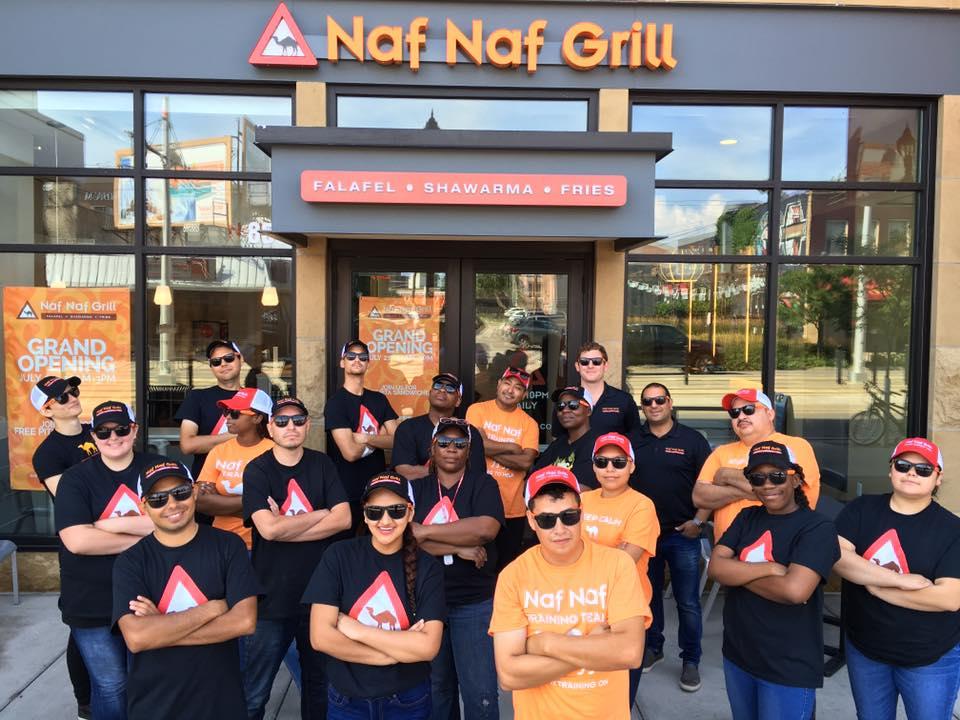 Naf Naf is now open at the U of M.