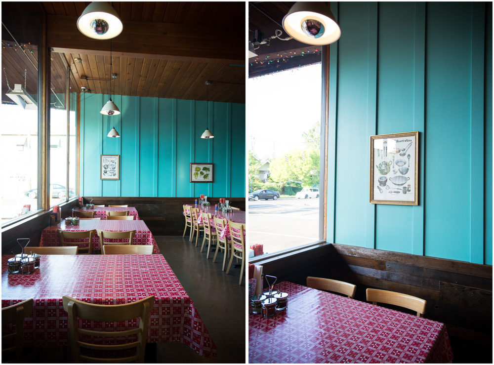 Sen Yai (the turquoise-y venue soon home to Honk Tonk Taco)