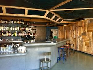 Ramen Shop's cocktail bar