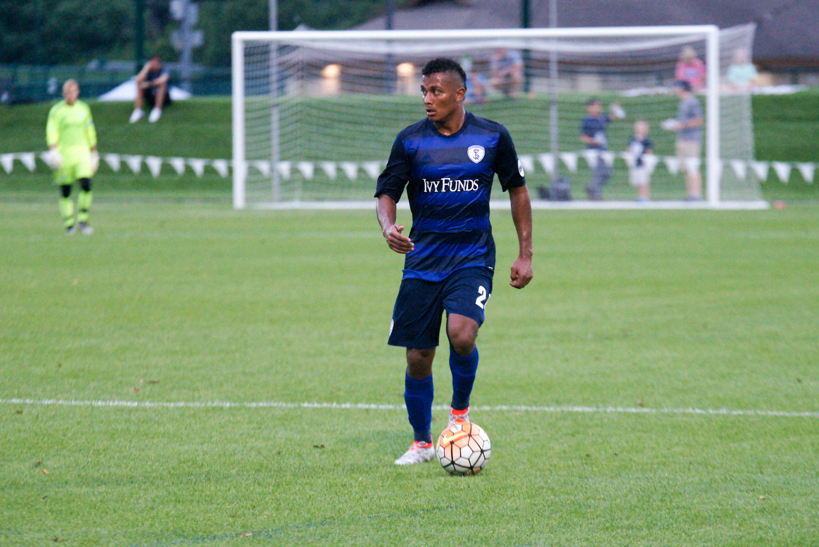 Ever Alvarado was loaned to Swope Park and has played the last two games