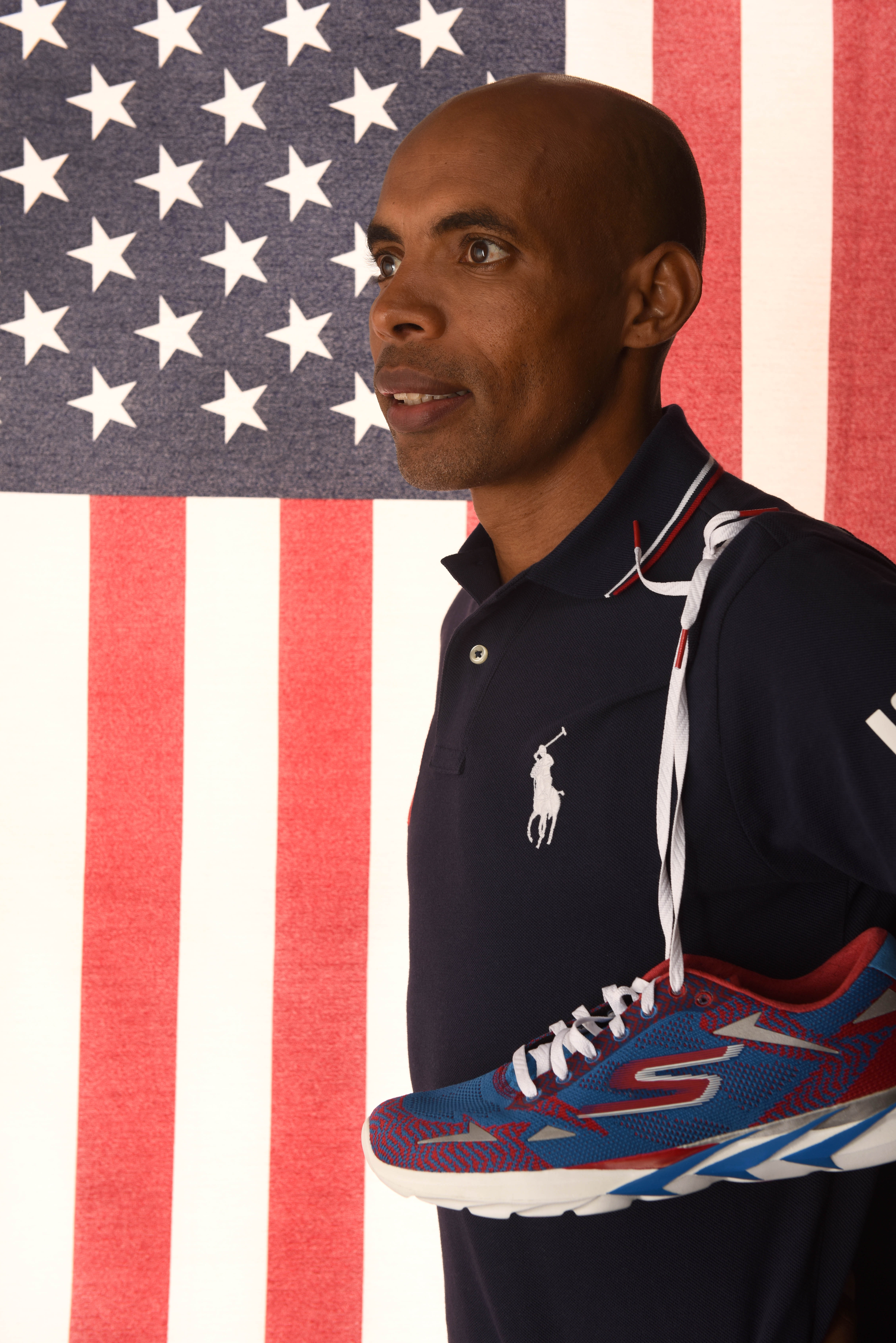 Marathon runner Meb Keflezighi is one of the 19 Bruin athletes who will compete for Team USA in the Rio Olympic Games.