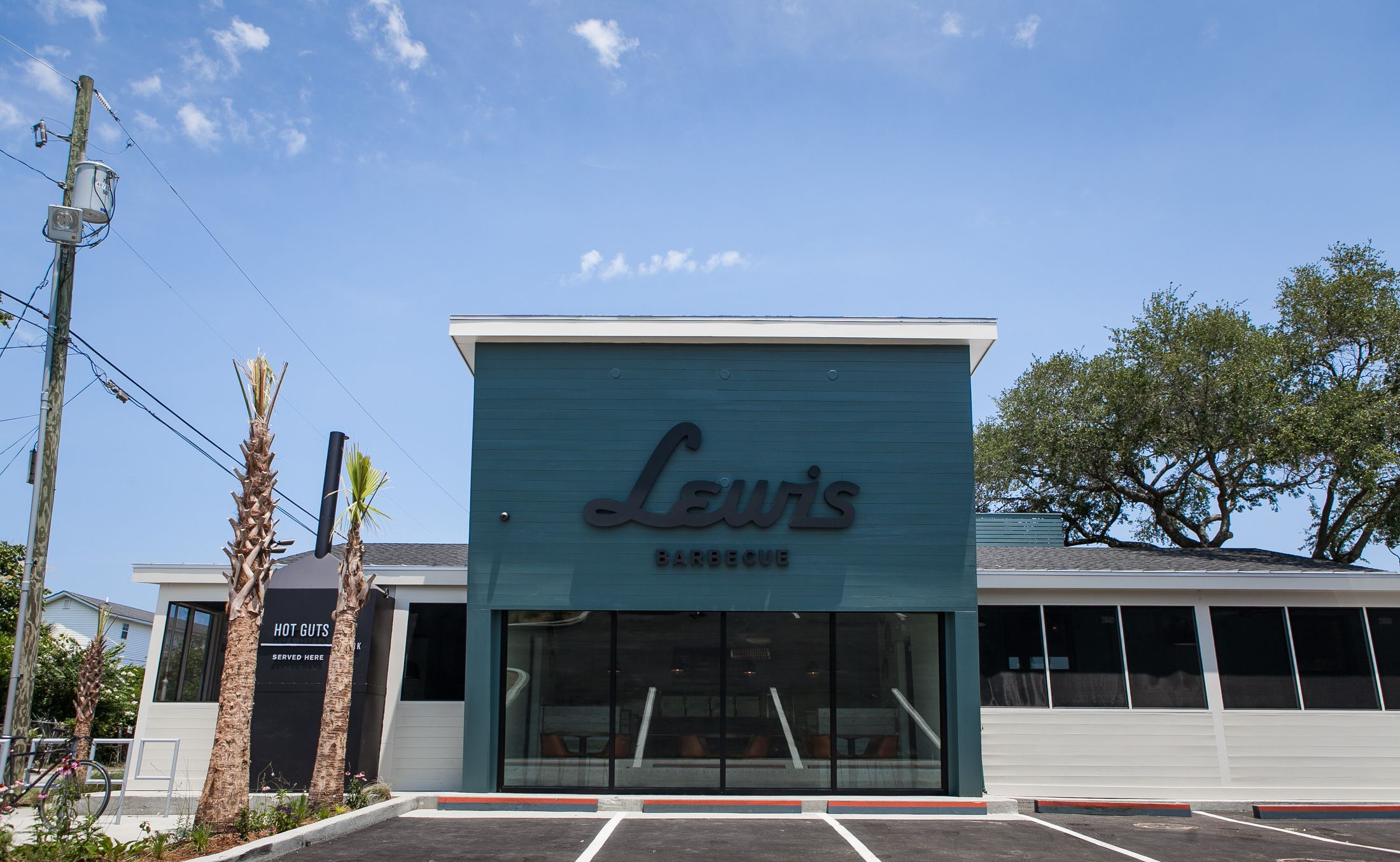Lewis Barbecue in Charleston